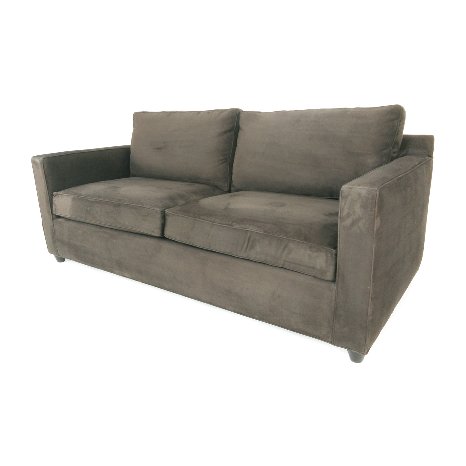 57% off - crate and barrel crate & barrel davis sofa / sofas