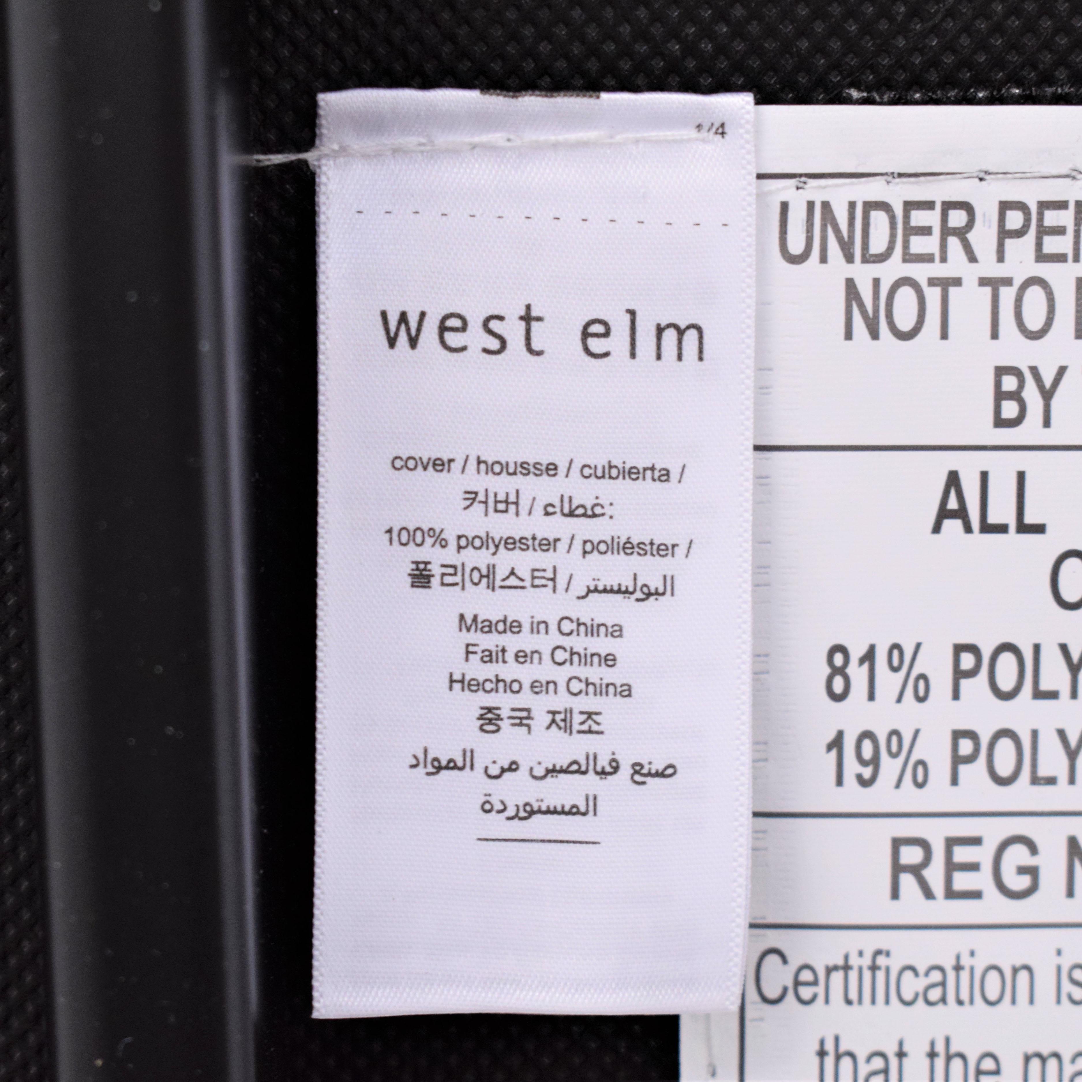 West Elm West Elm Box Frame Upholstered Bench coupon