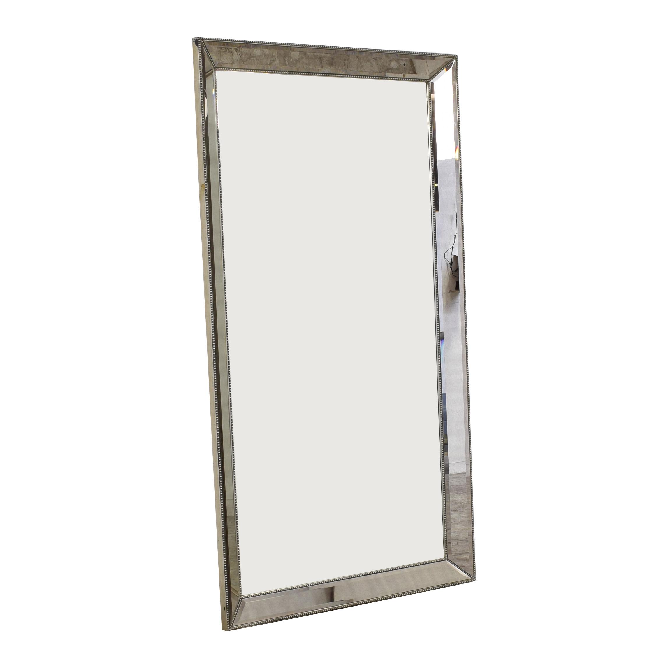 Bassett Mirror Company Beaded Leaner Mirror sale