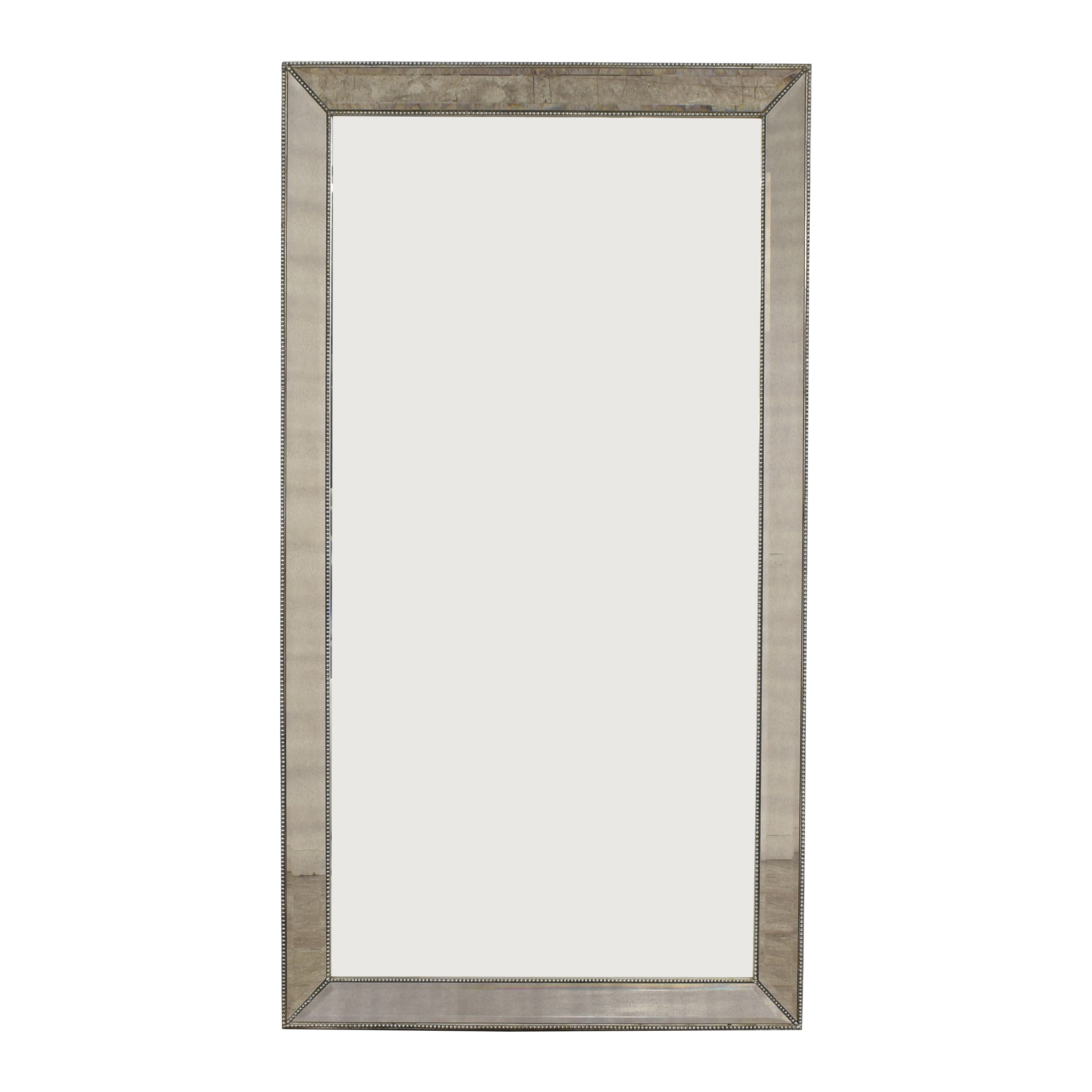 Bassett Mirror Company Bassett Mirror Company Beaded Leaner Mirror dimensions