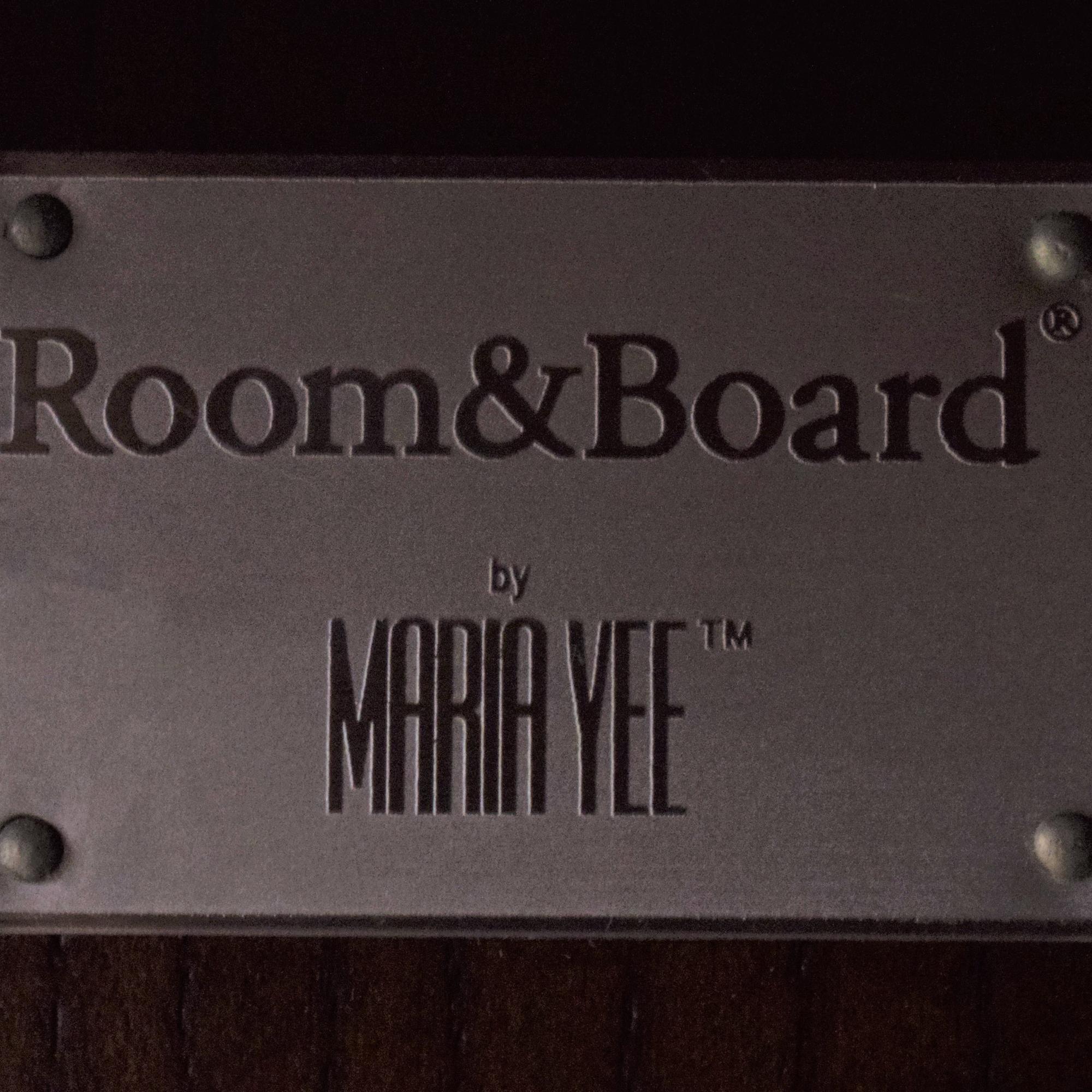 Room & Board Room & Board Maria Yee Media Unit dark brown