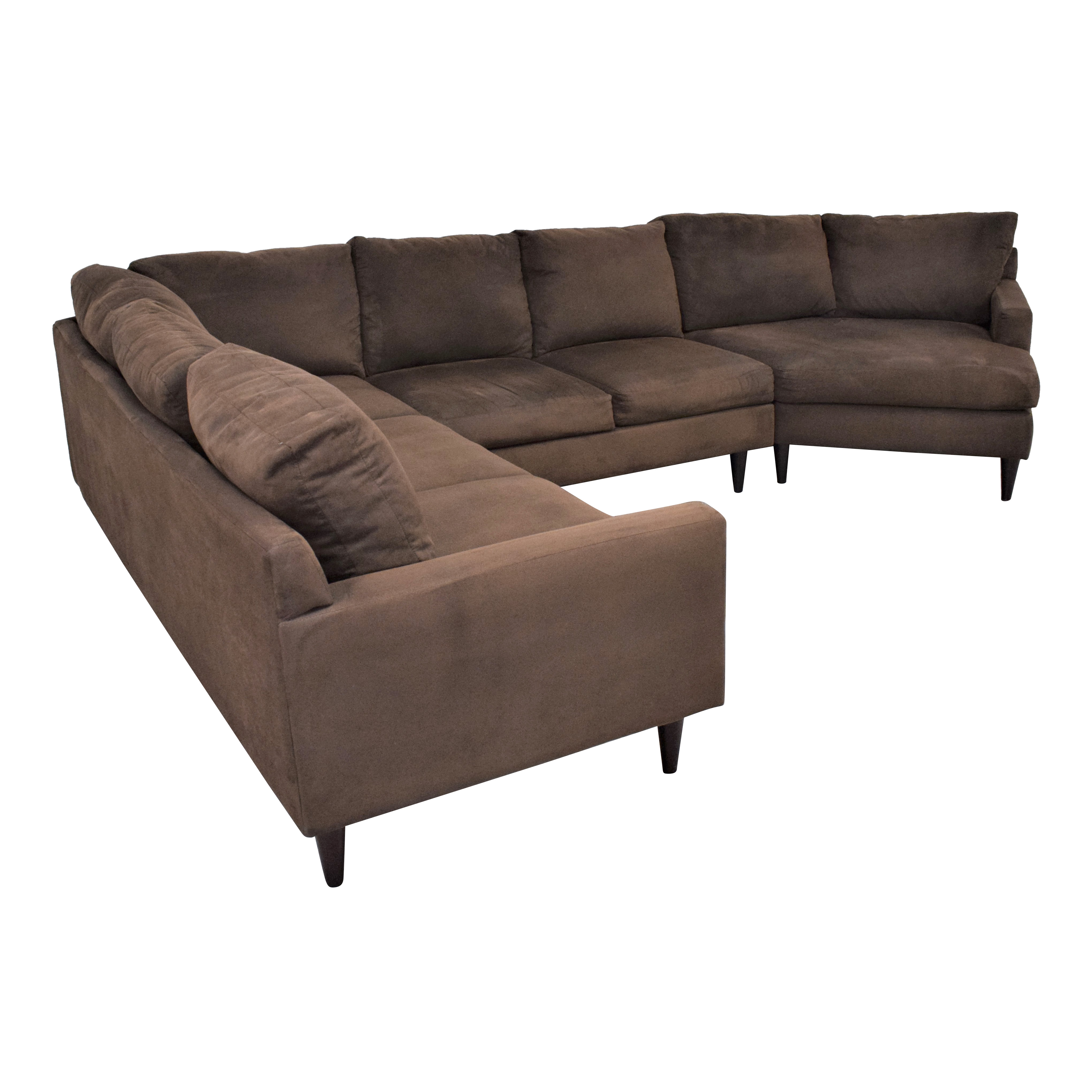 Max Home Max Home Cuddler Sectional Sofa coupon