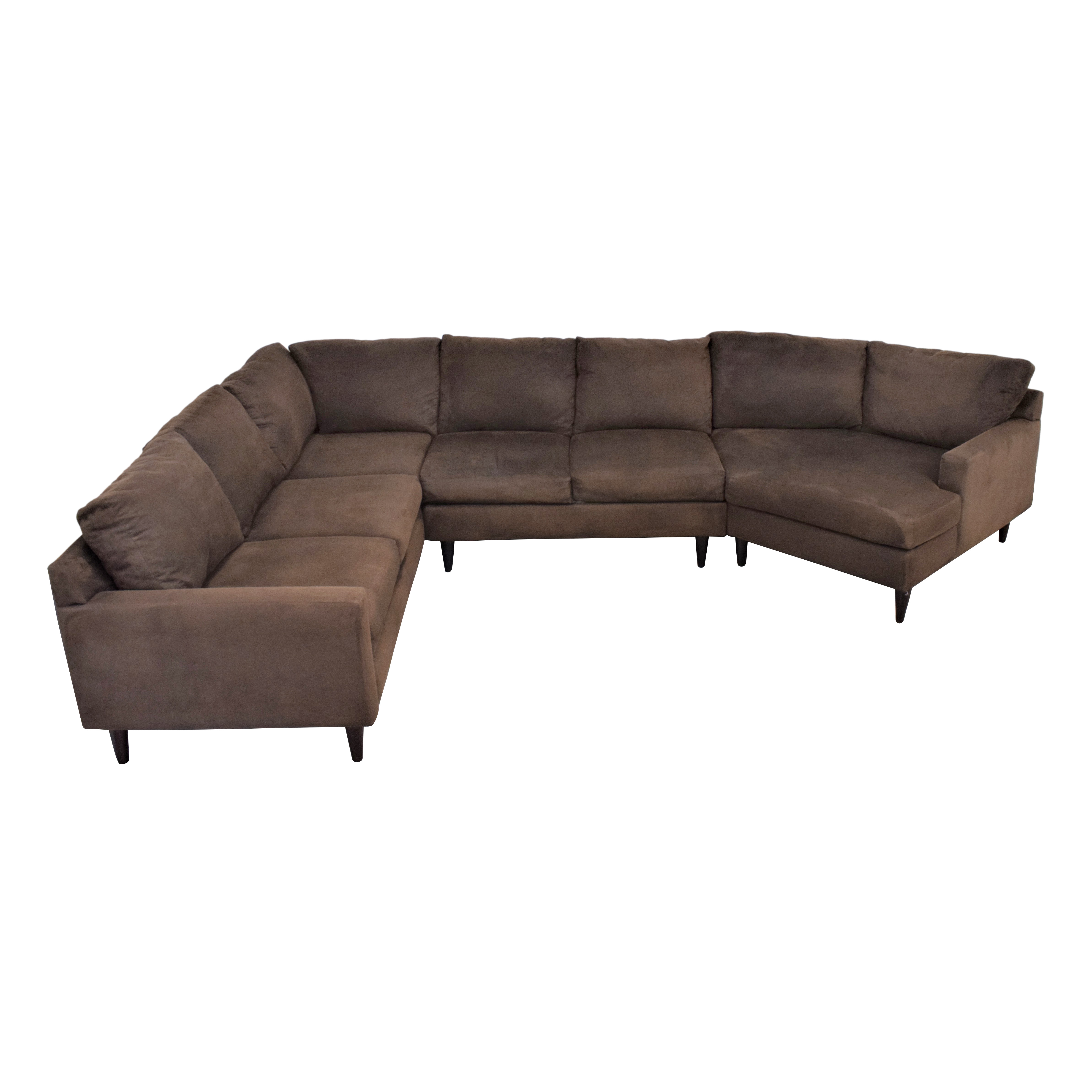 Max Home Max Home Cuddler Sectional Sofa used