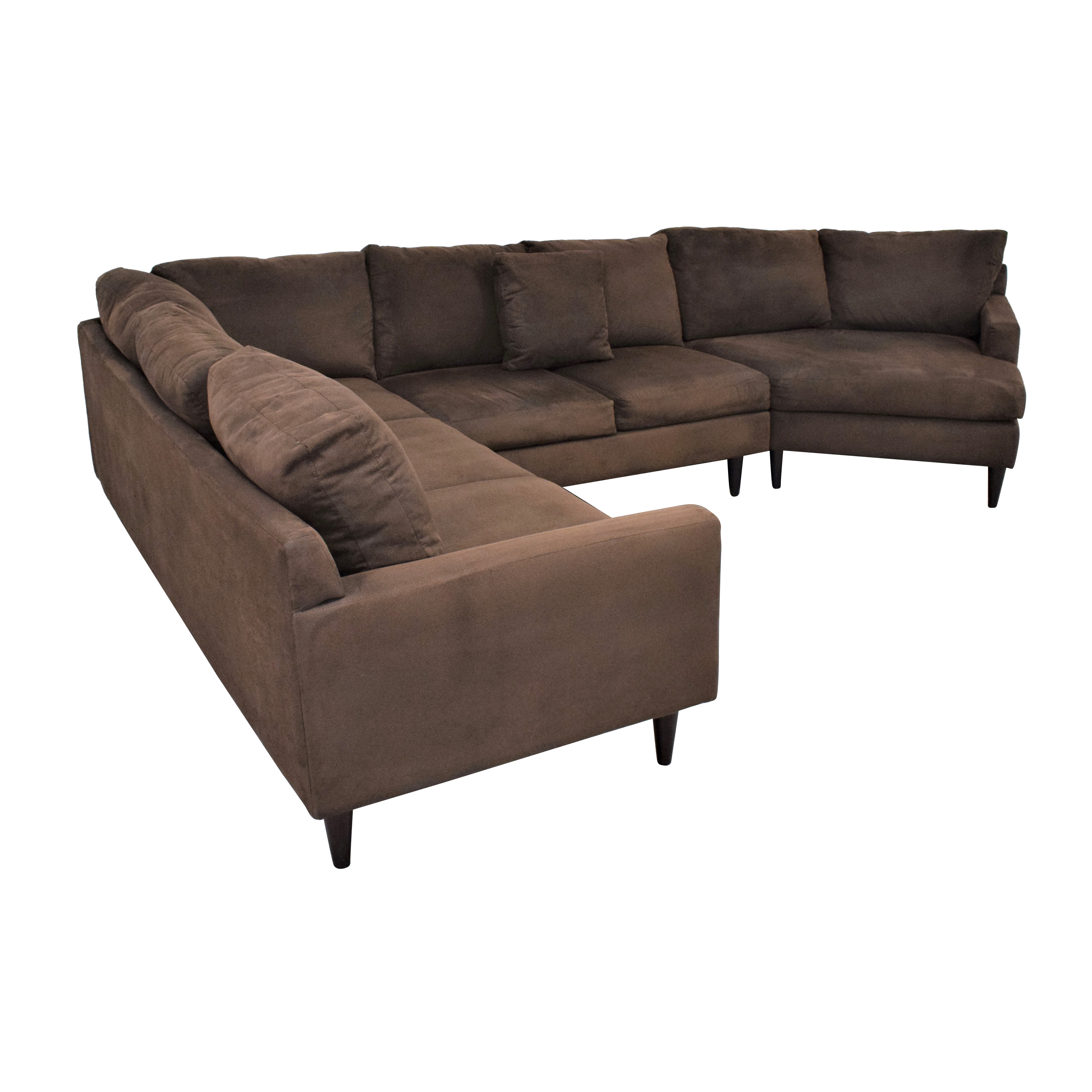 Max Home Cuddler Sectional Sofa Max Home