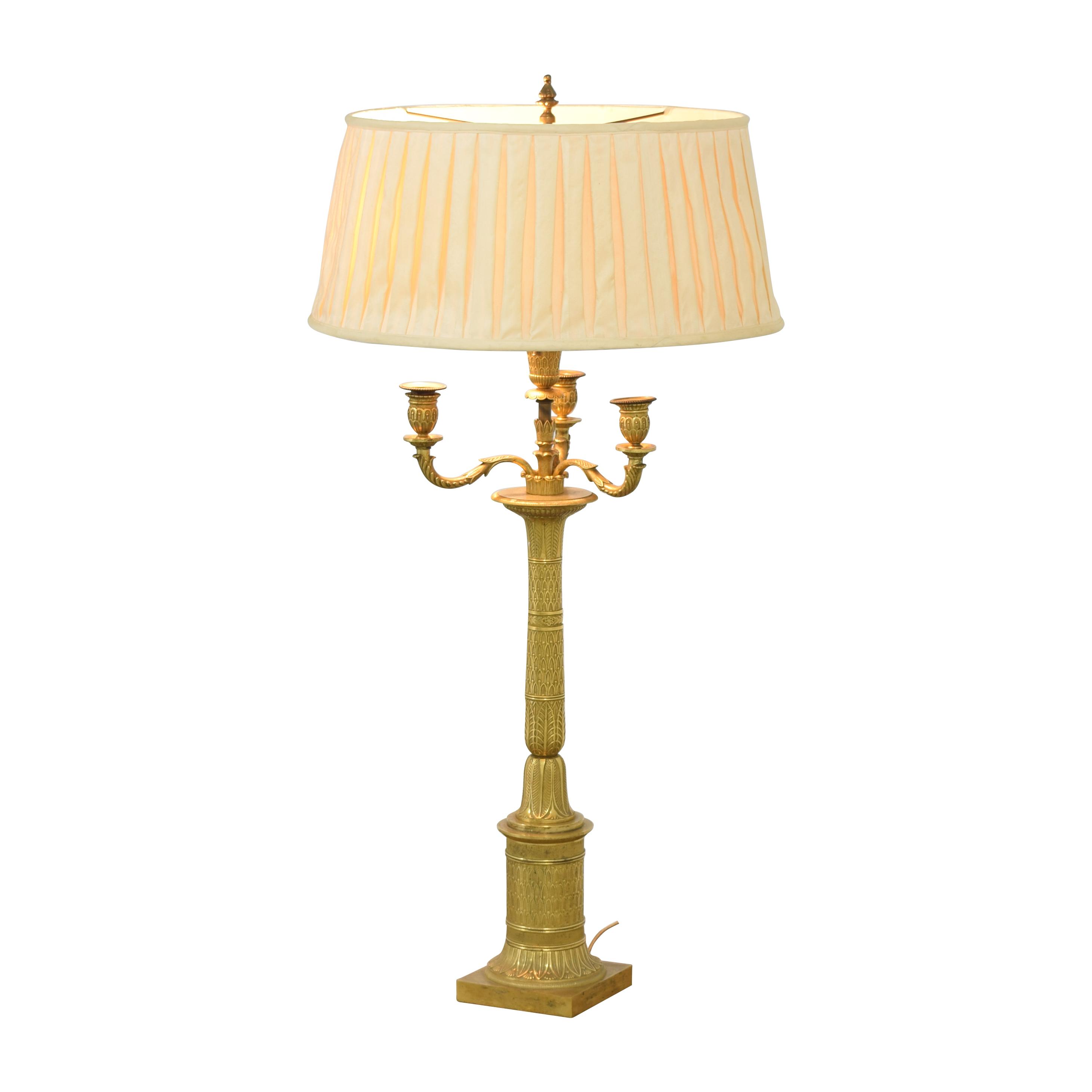 Bronze Candelabra Lamp bronze