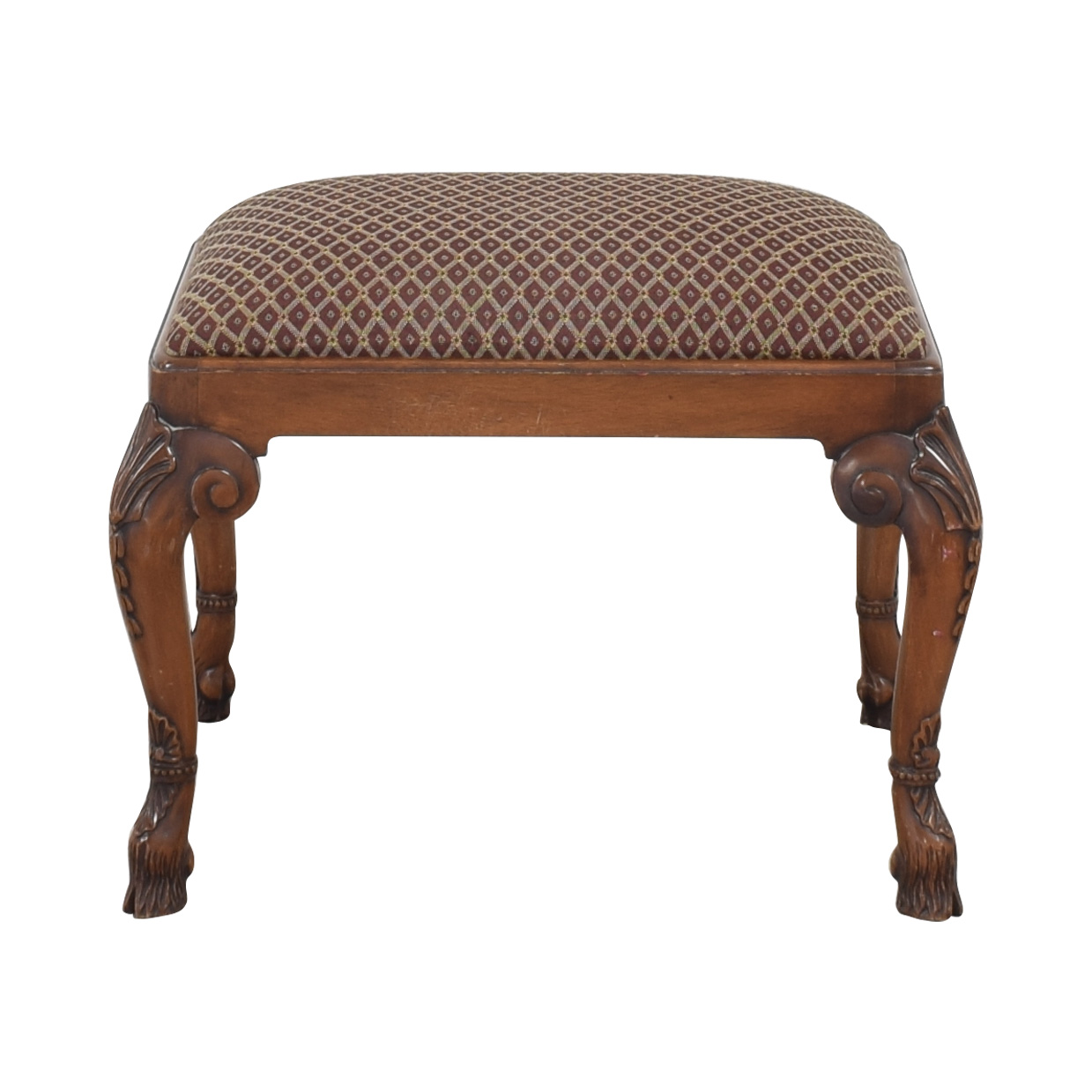 Maitland-Smith Maitland-Smith Bench brown and red