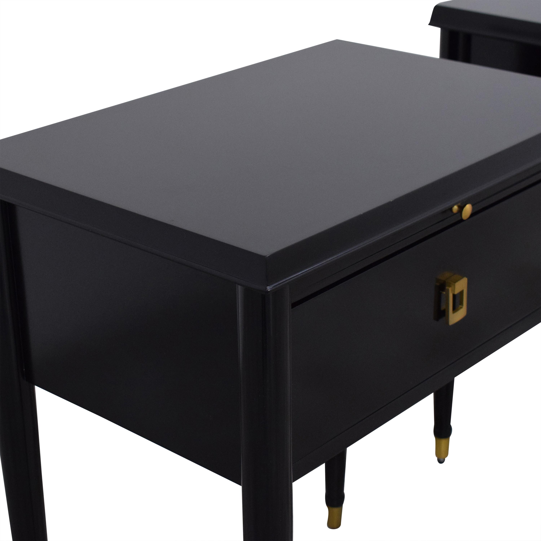 Williams Sonoma William Sonoma Lacourte One Drawer Nightstands for sale