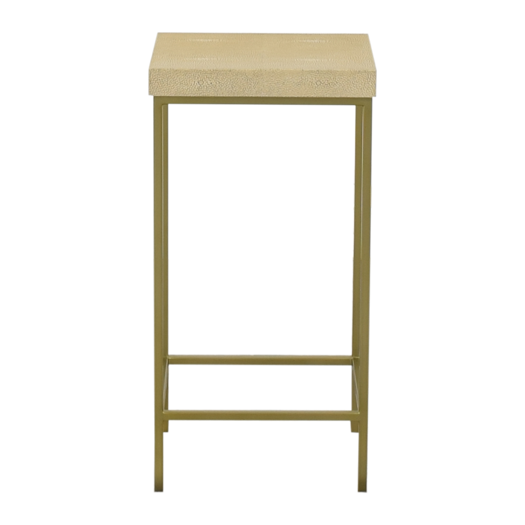 buy Williams Sonoma Faux Shagreen Accent Table Williams Sonoma End Tables