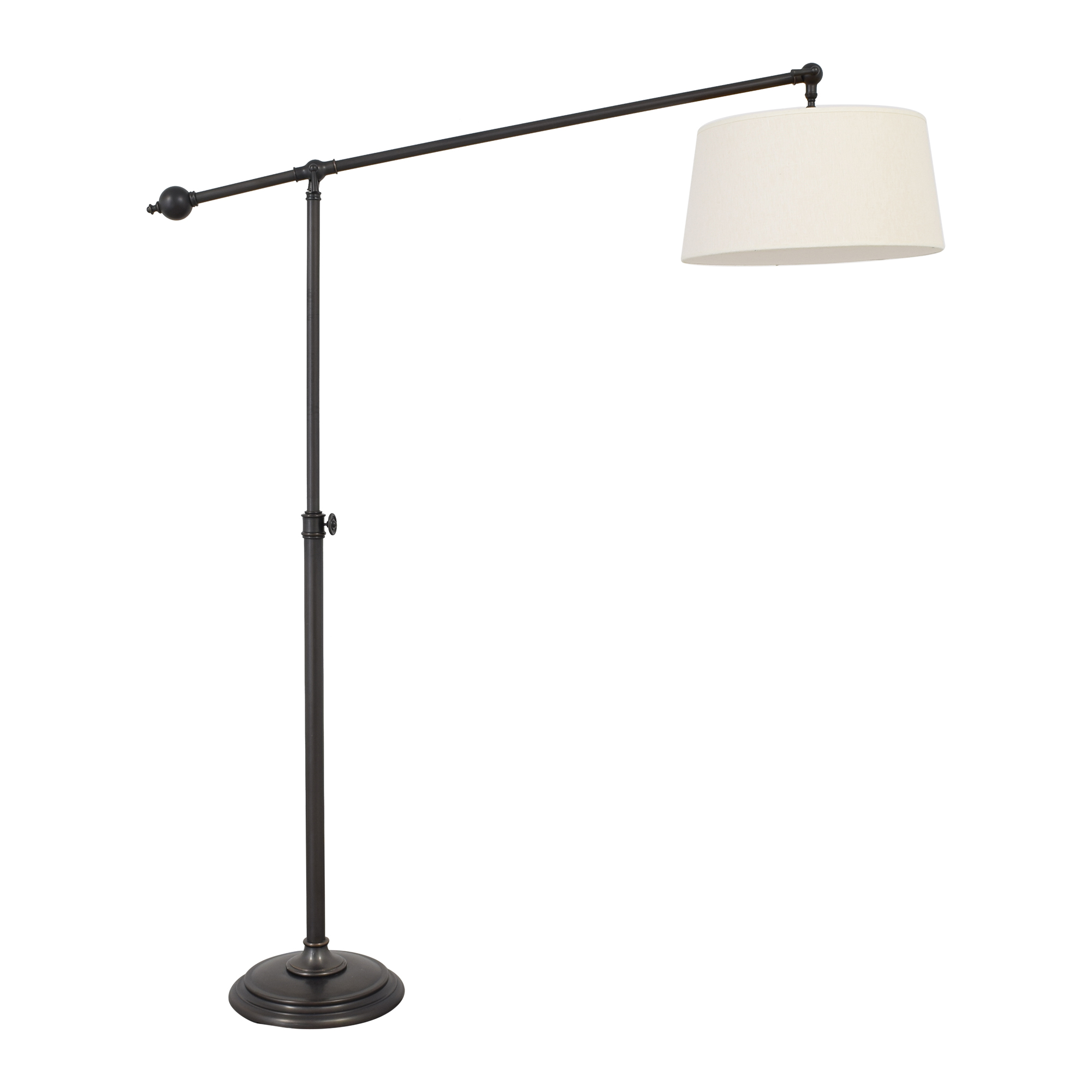 Pottery Barn Swing-Arm Floor Lamp / Decor