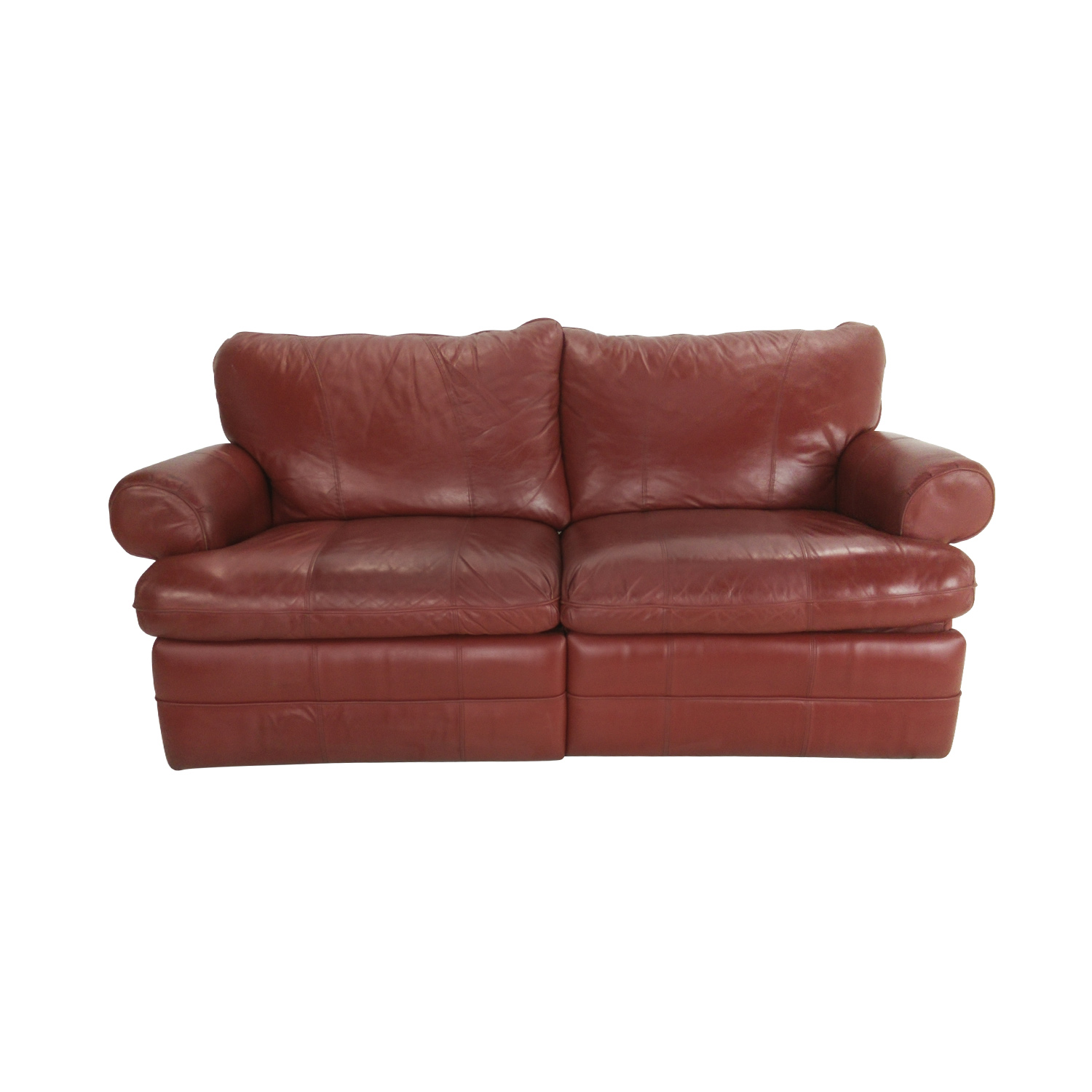 84 off la z boy la z boy red recliner couch sofas for Classic loveseat