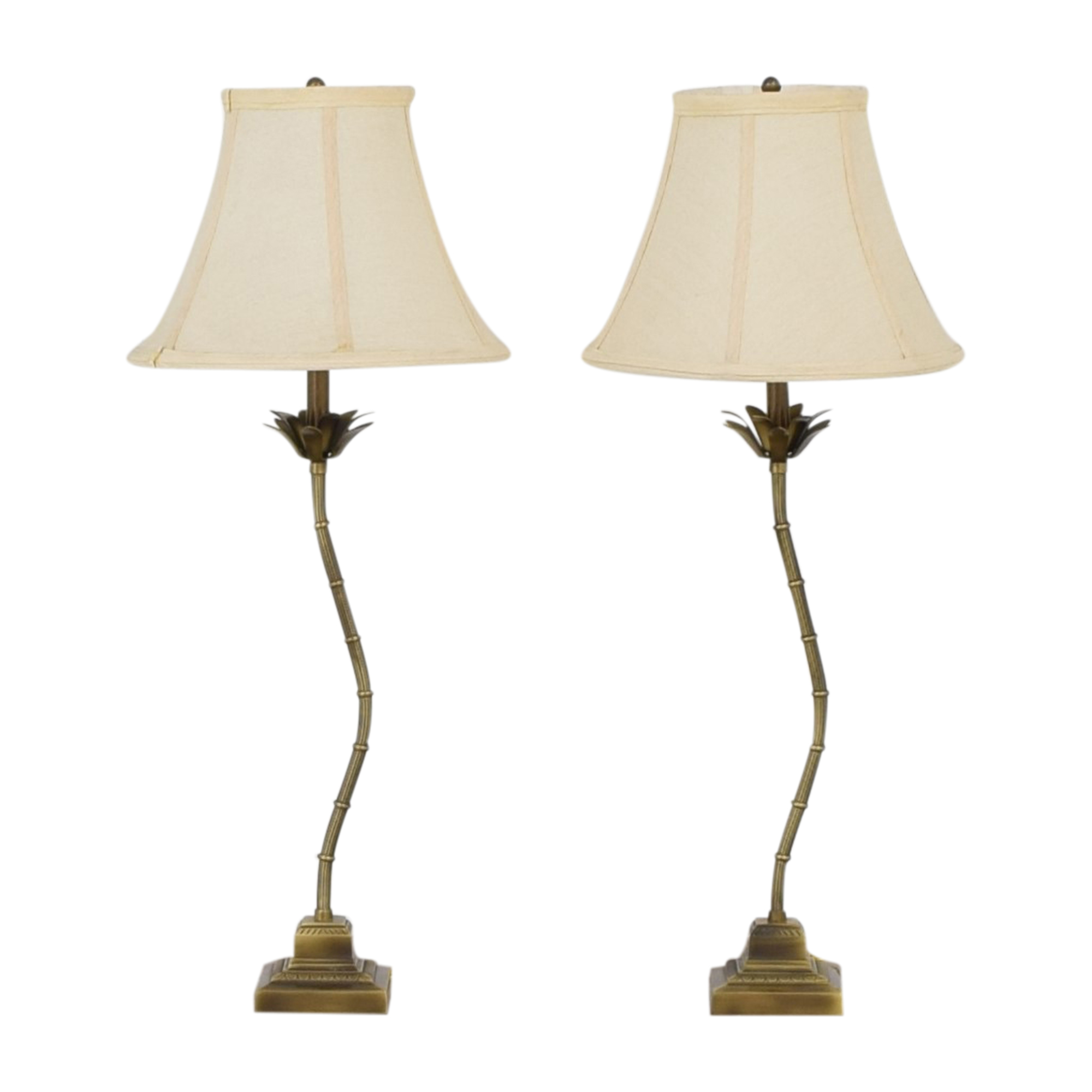 Bamboo Table Lamps ct