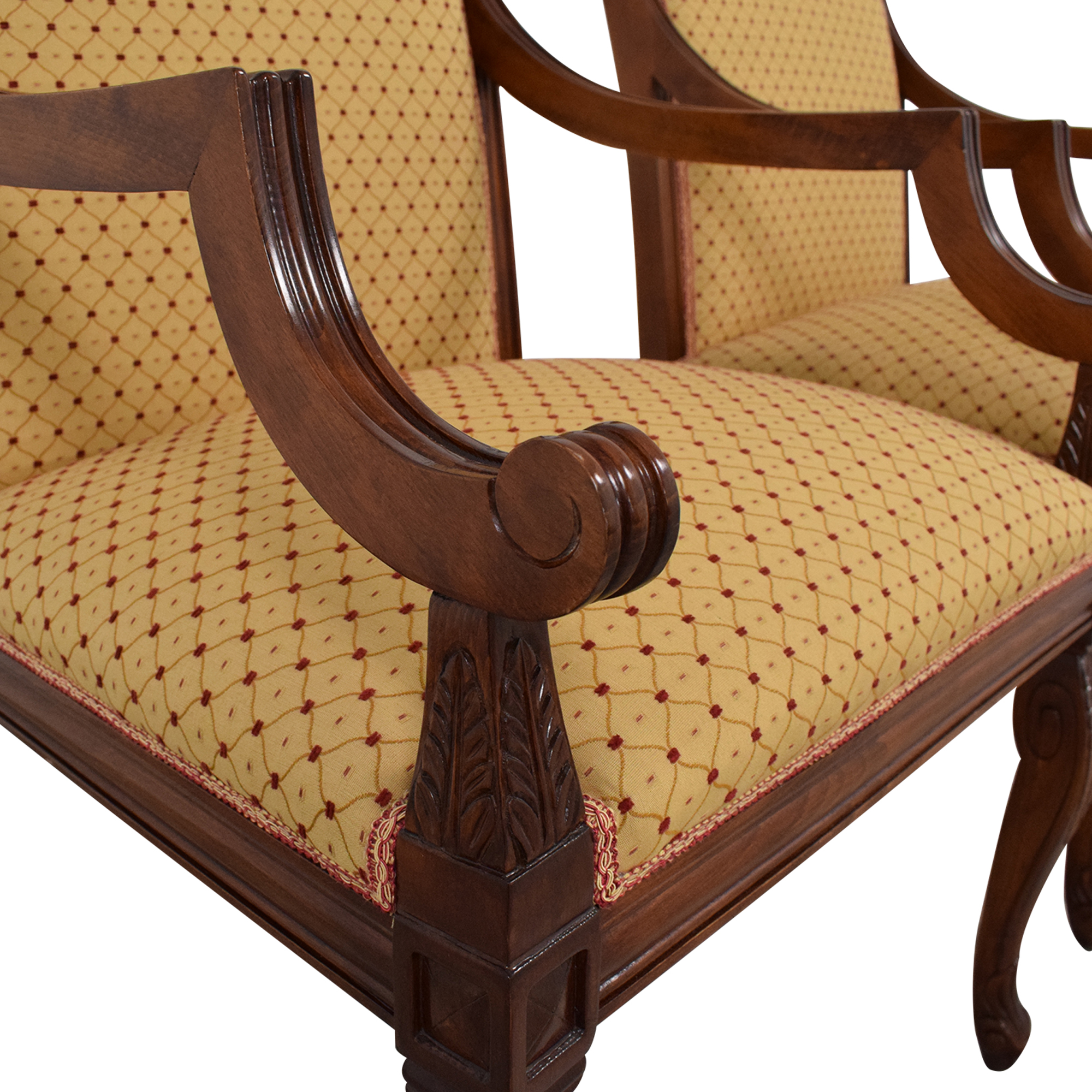 KPS Furnishings Custom Dining Arm Chairs KPS Furnishings
