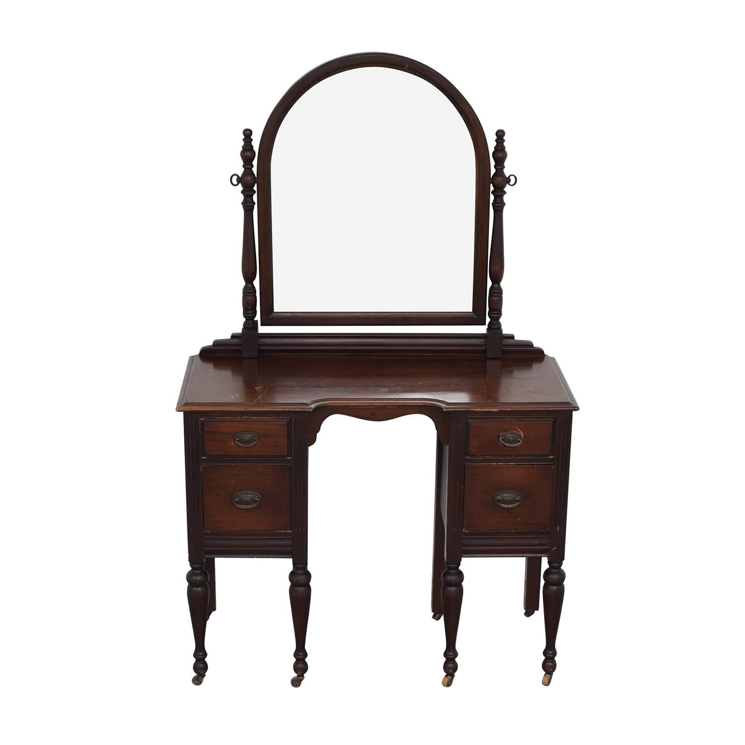 Traditional Vanity with Mirror discount