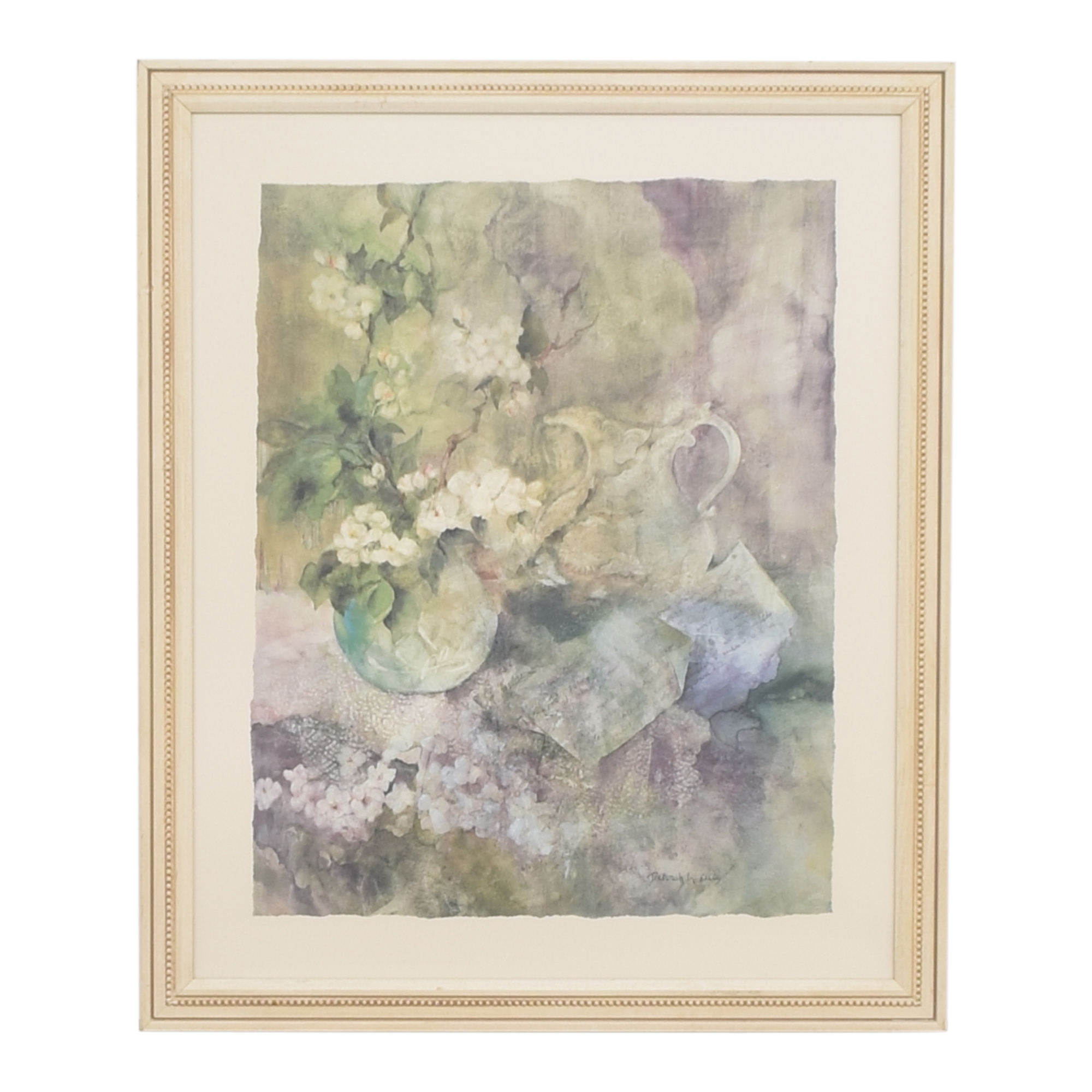 West Elm West Elm Watercolor Motif Print on sale