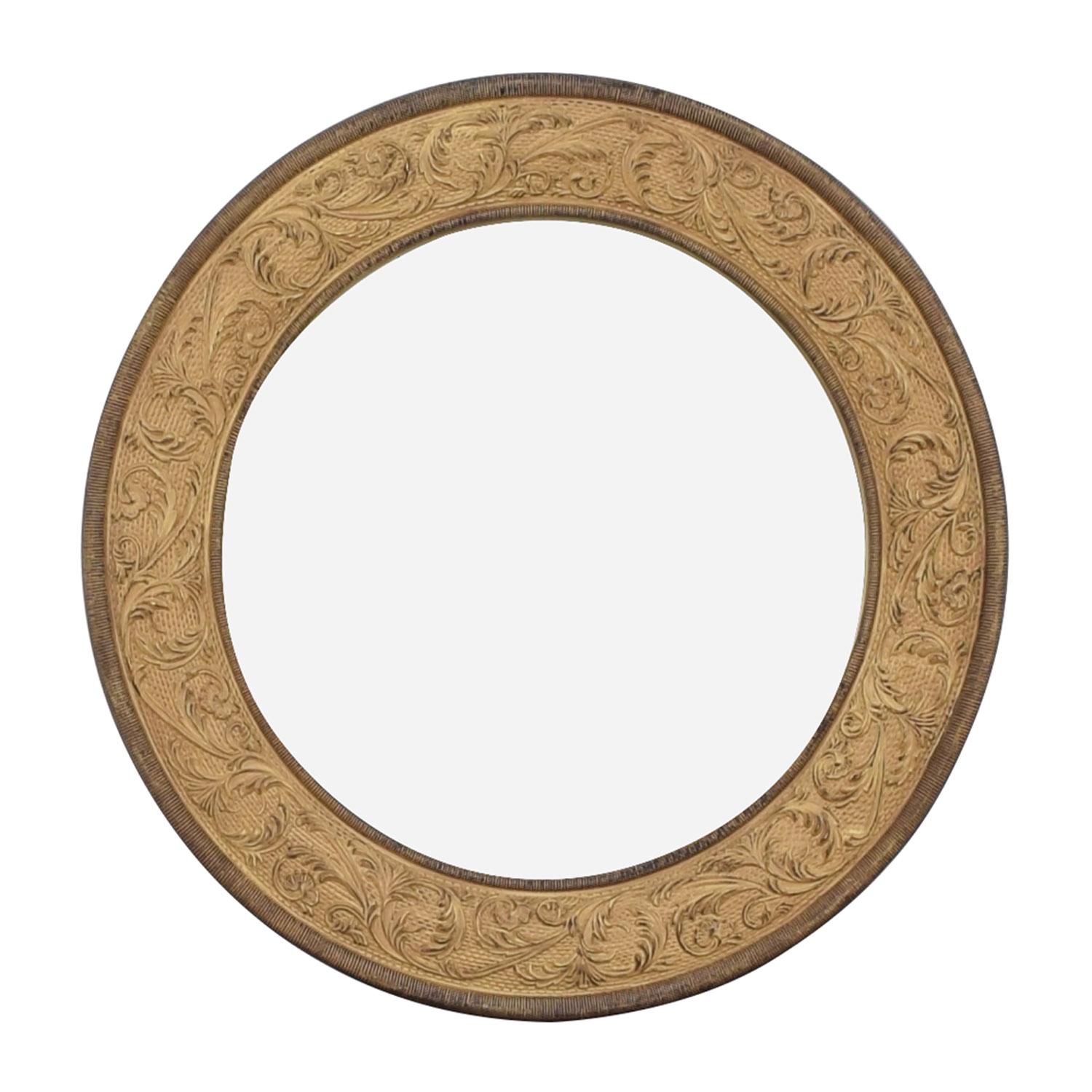 shop Round Framed Accent Mirror One Kings Lane Mirrors