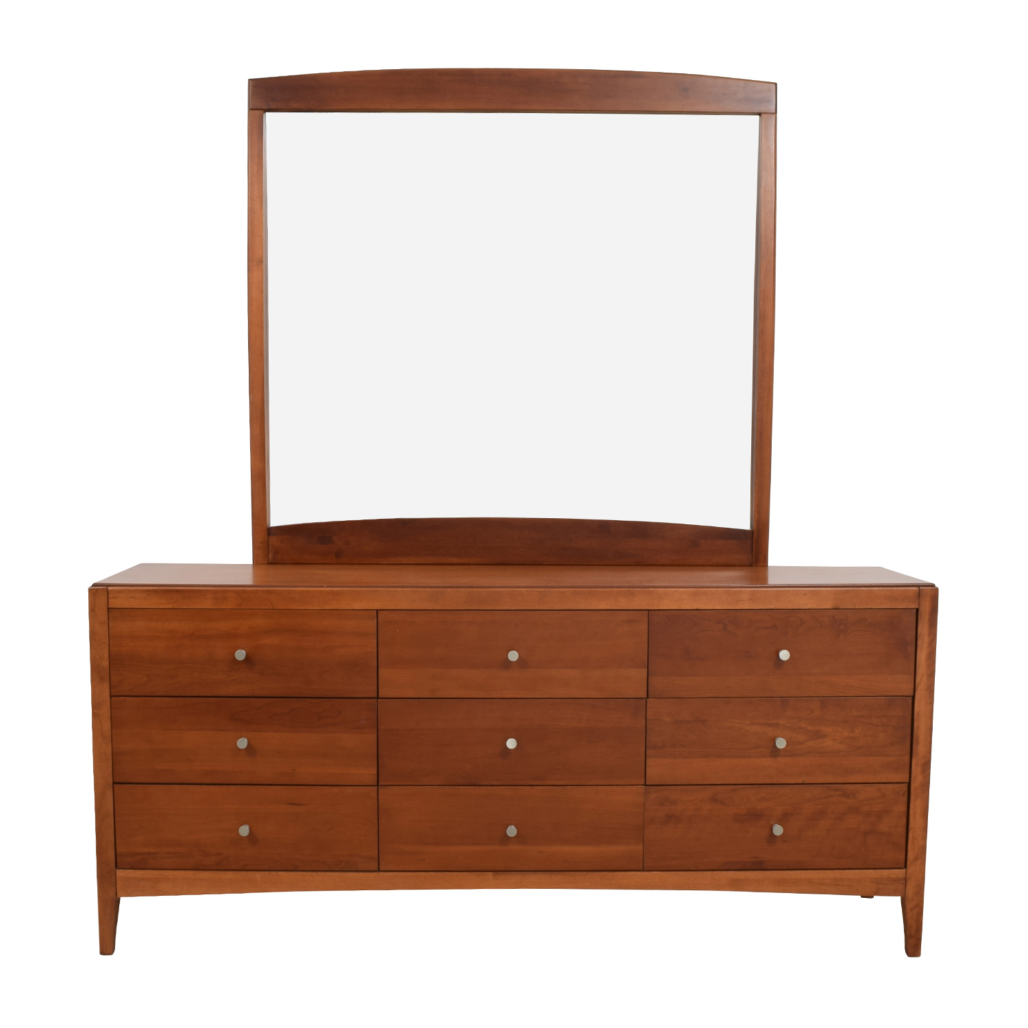 buy Macys Solid Wood 9-Drawer Dresser With Mirror Macys Storage
