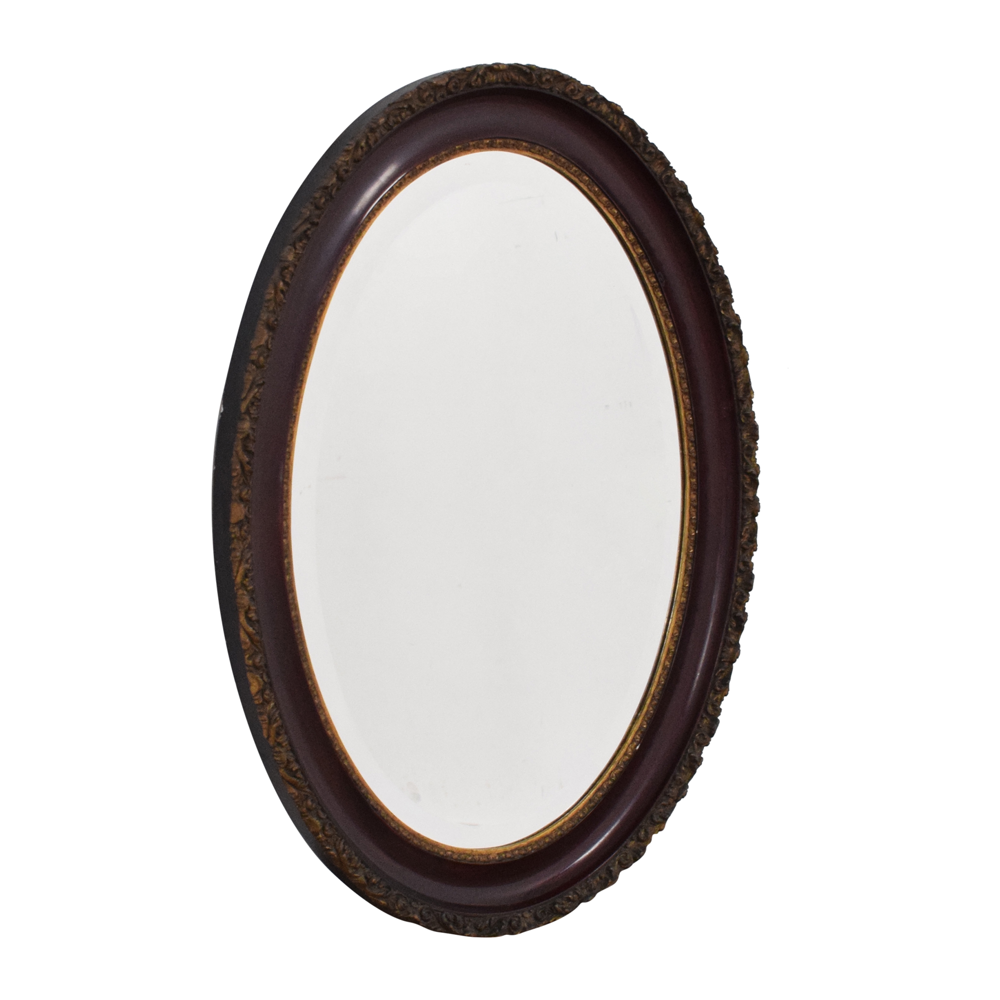 Oval Framed Wall Mirror sale