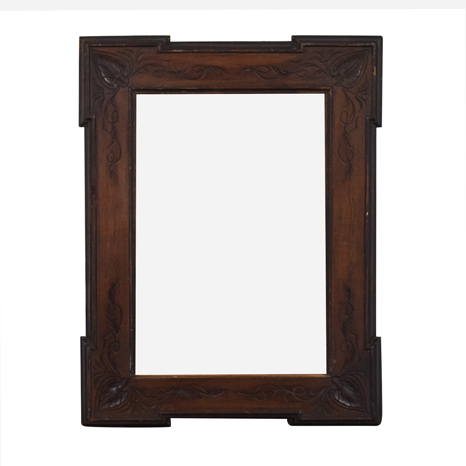 Carved Frame Vintage Wall Mirror ct