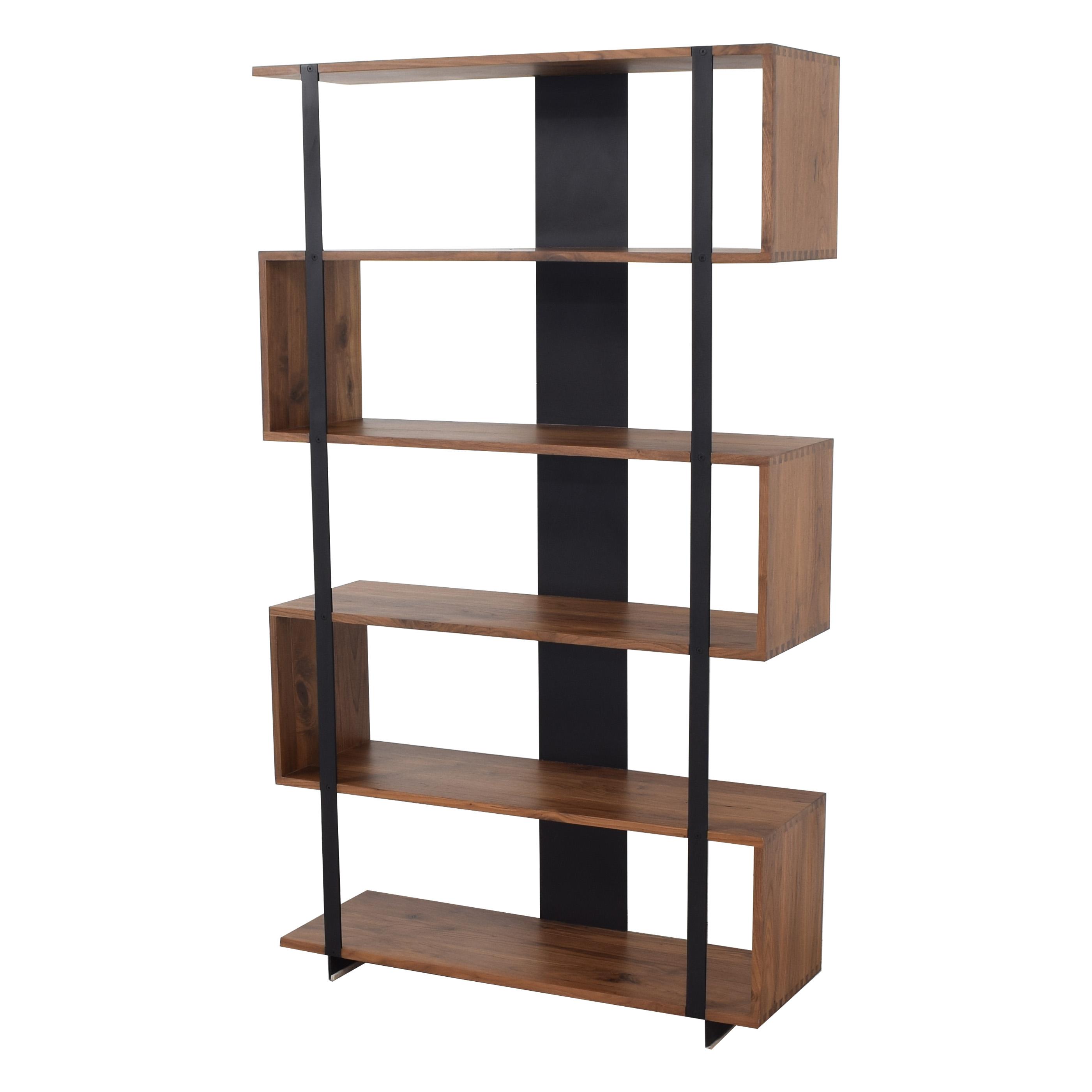 shop Crate & Barrel Austin Room Divider Crate & Barrel Bookcases & Shelving