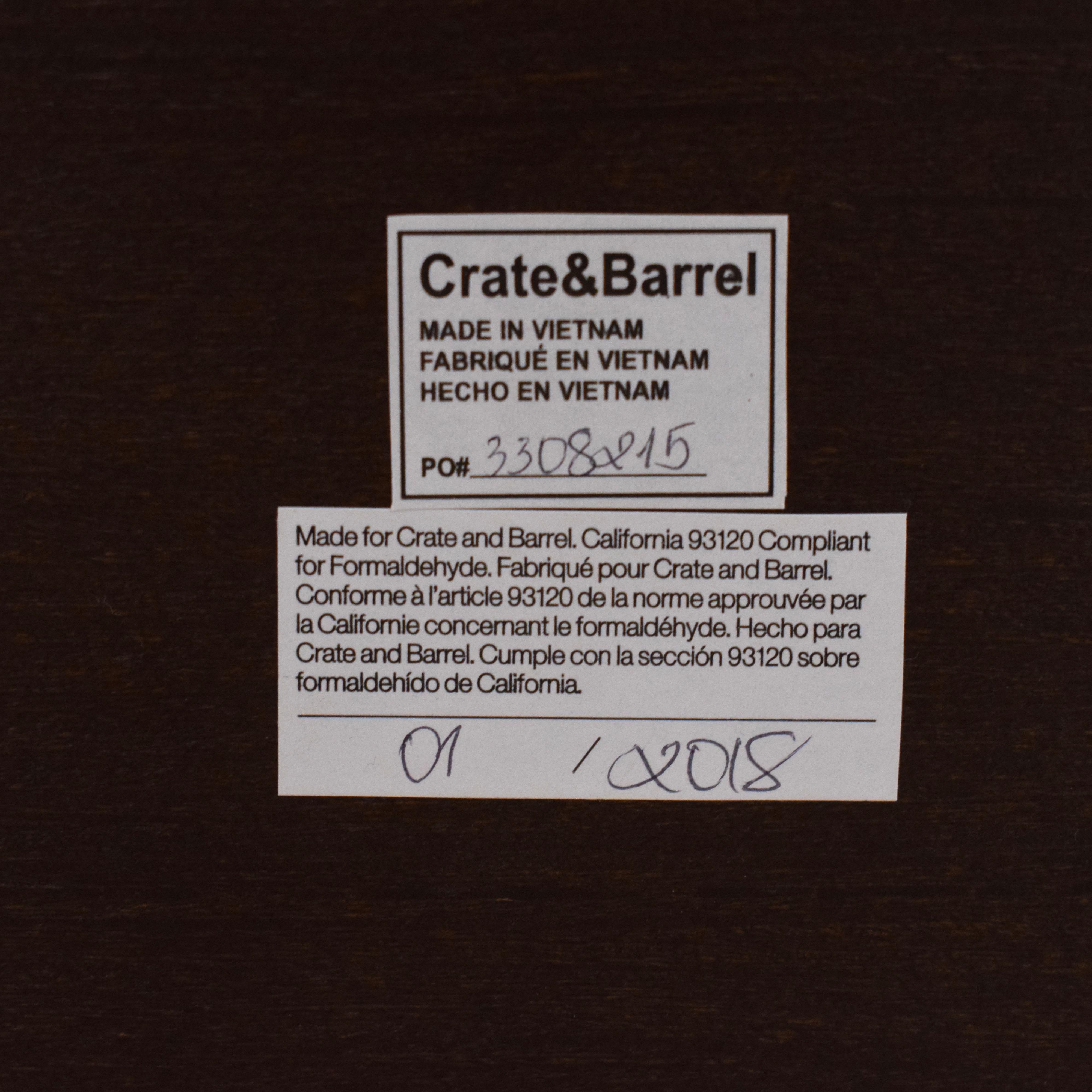 Crate & Barrel Crate & Barrel HD Media Console discount