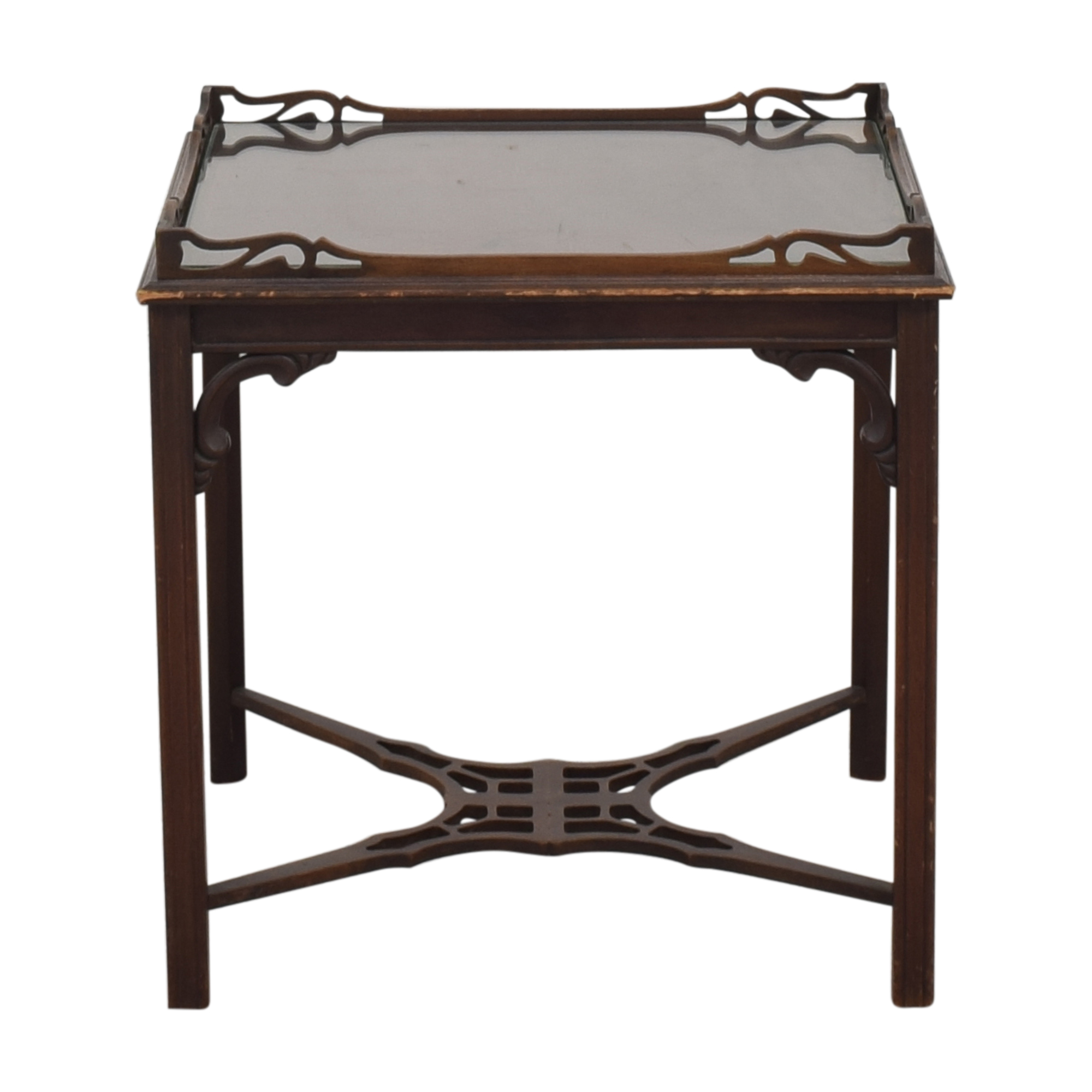 Lambert Hitchcock Lambert Hitchcock End Table dark brown