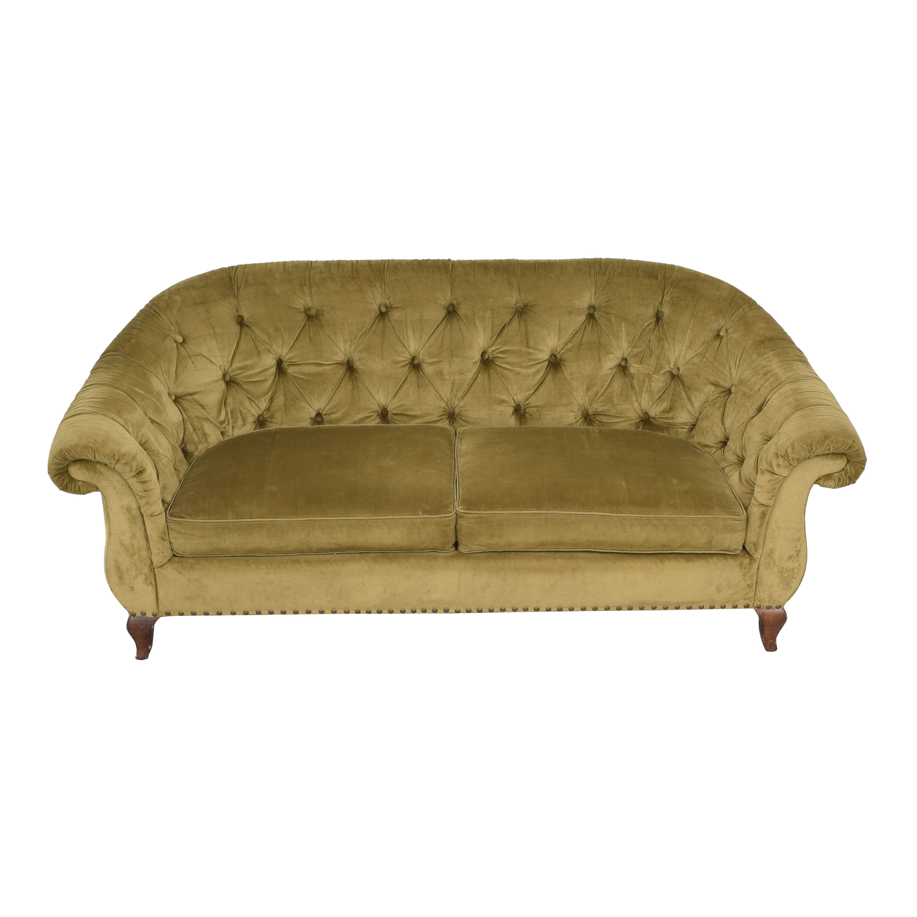 Ralph Lauren Home Ralph Lauren Home Velvet Sofa for sale