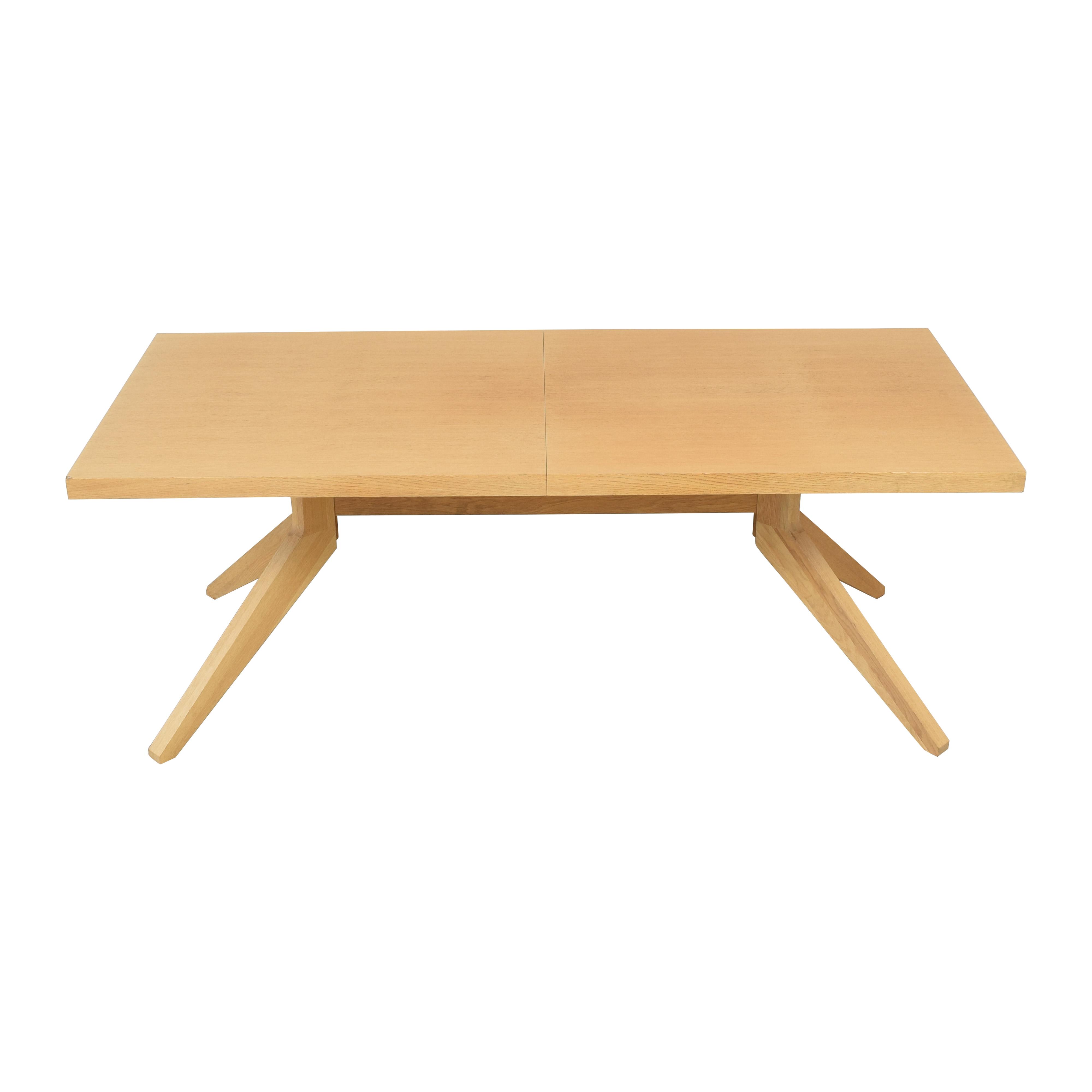 shop Design Within Reach Case Cross Extension Table Design Within Reach Tables