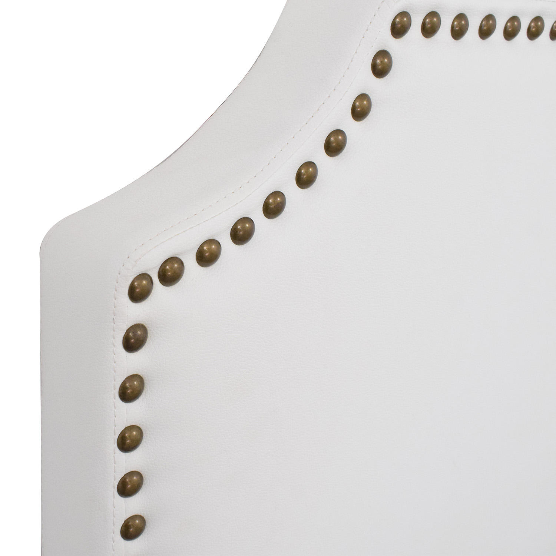 Coaster Fine Furniture Coaster Nailhead Trim Upholstered Queen Headboard ma