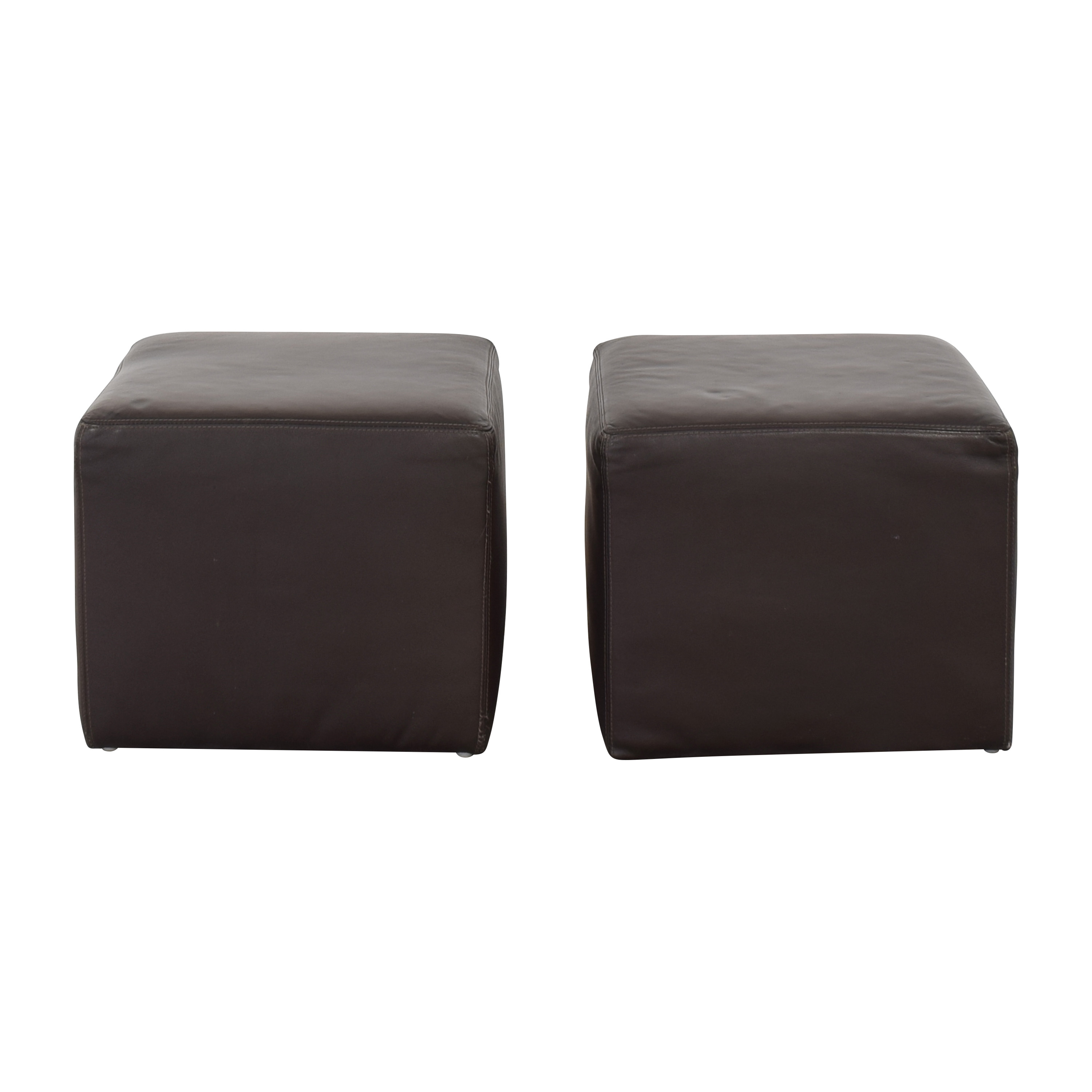BoConcept BoConcept Ottomans or End Tables on sale
