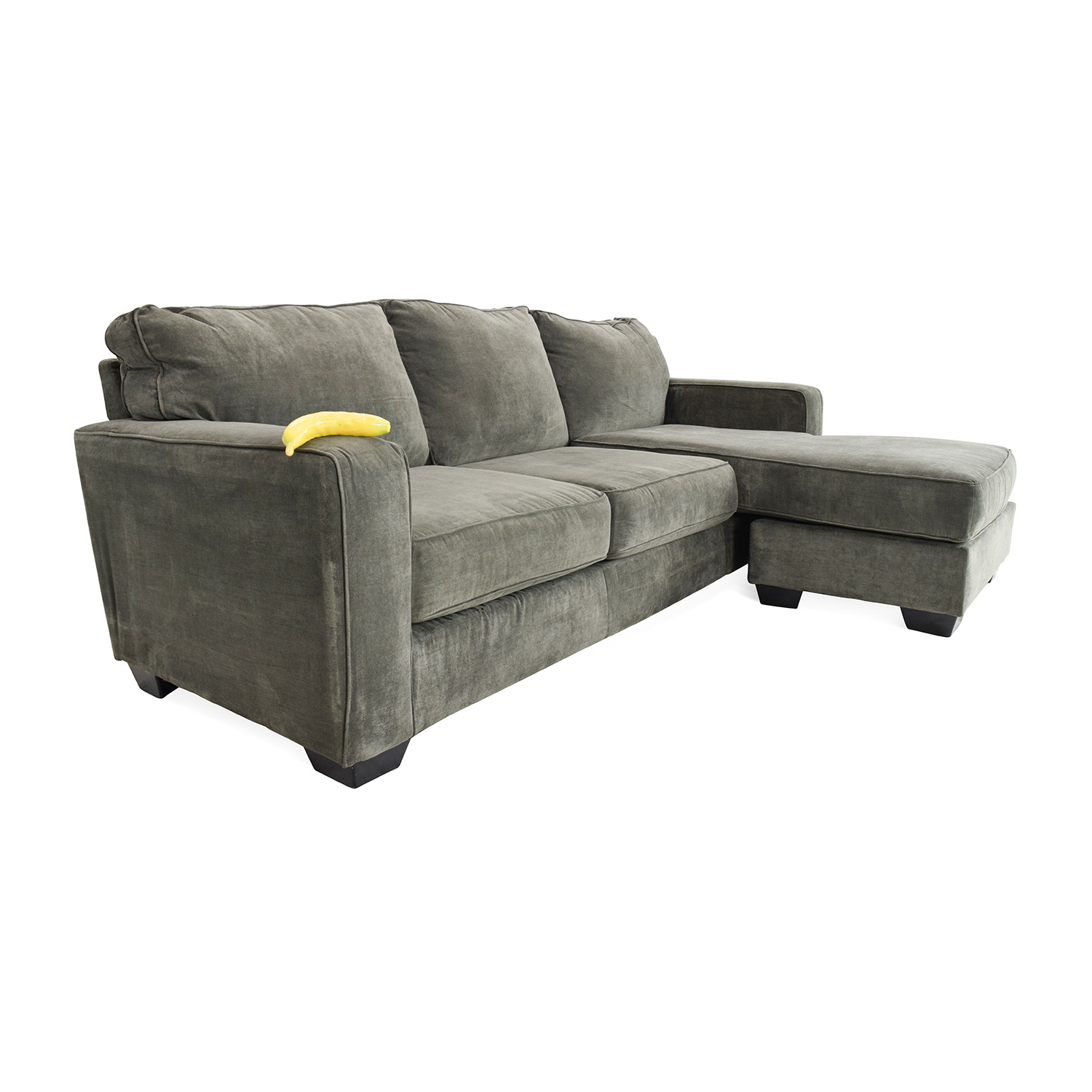 54% OFF - Jennifer Furniture Jennifer Convertibles Sectional Sofa / Sofas
