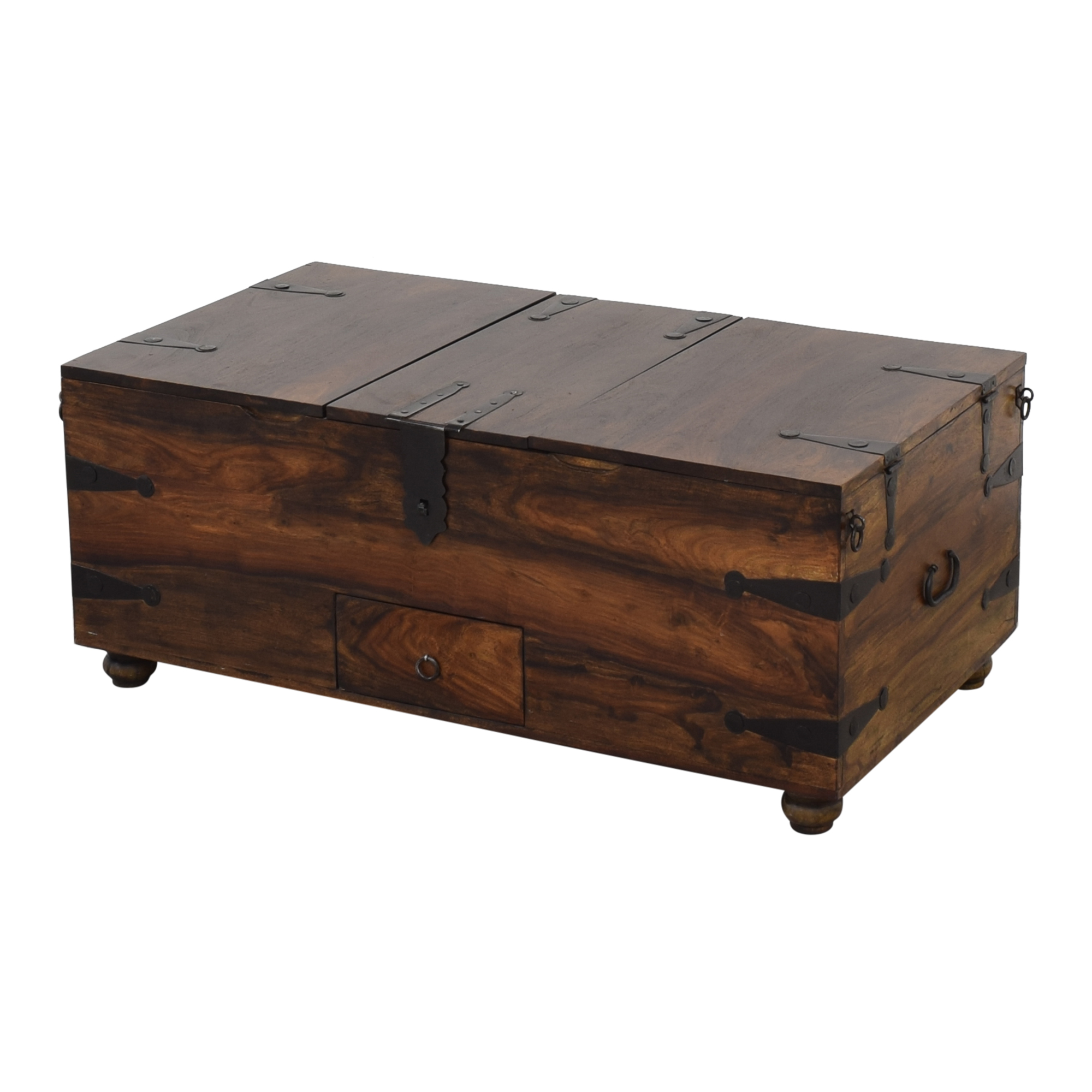 shop Crate & Barrel Taka Trunk and Coffee Table Crate & Barrel Trunks