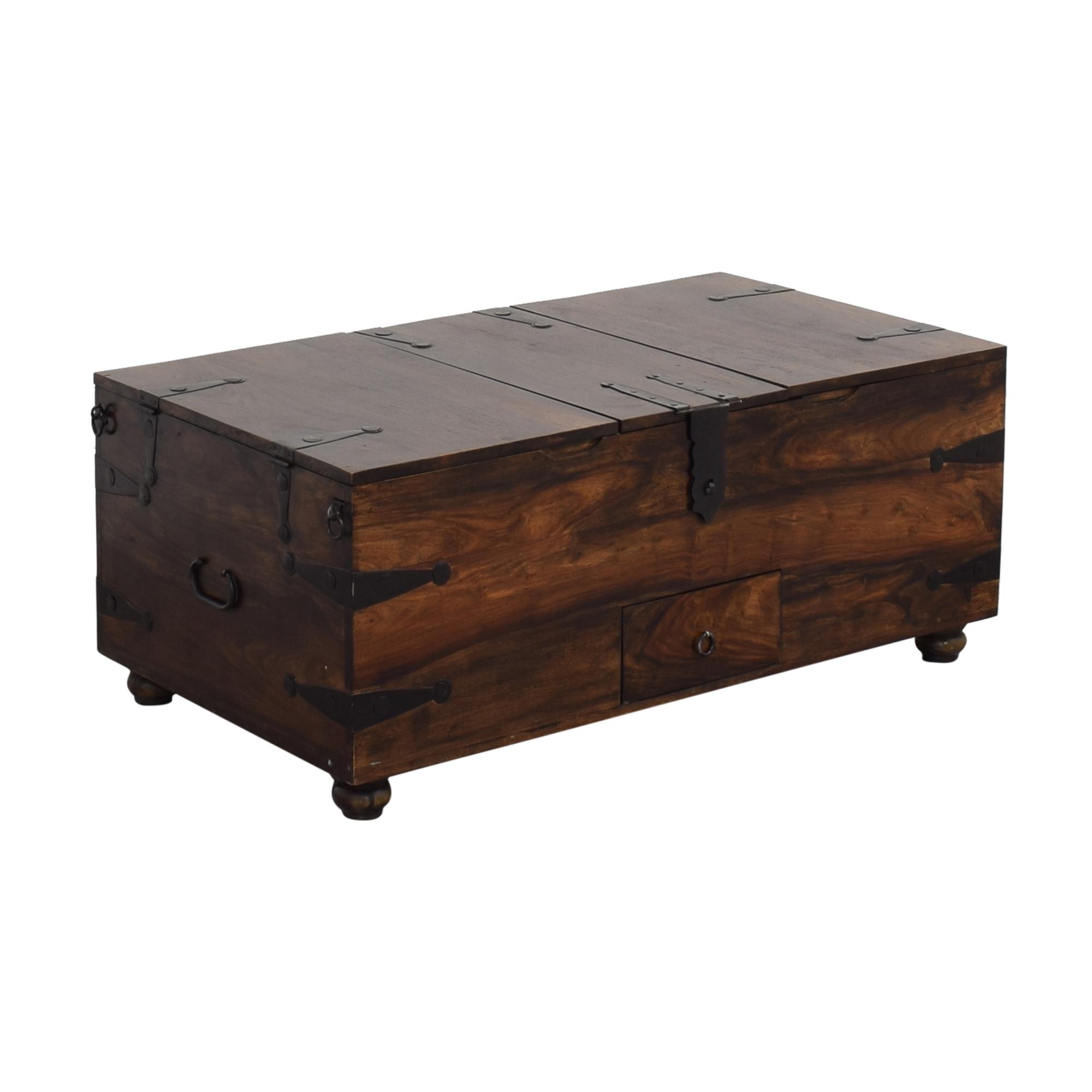 - 56% OFF - Crate & Barrel Crate & Barrel Taka Trunk And Coffee