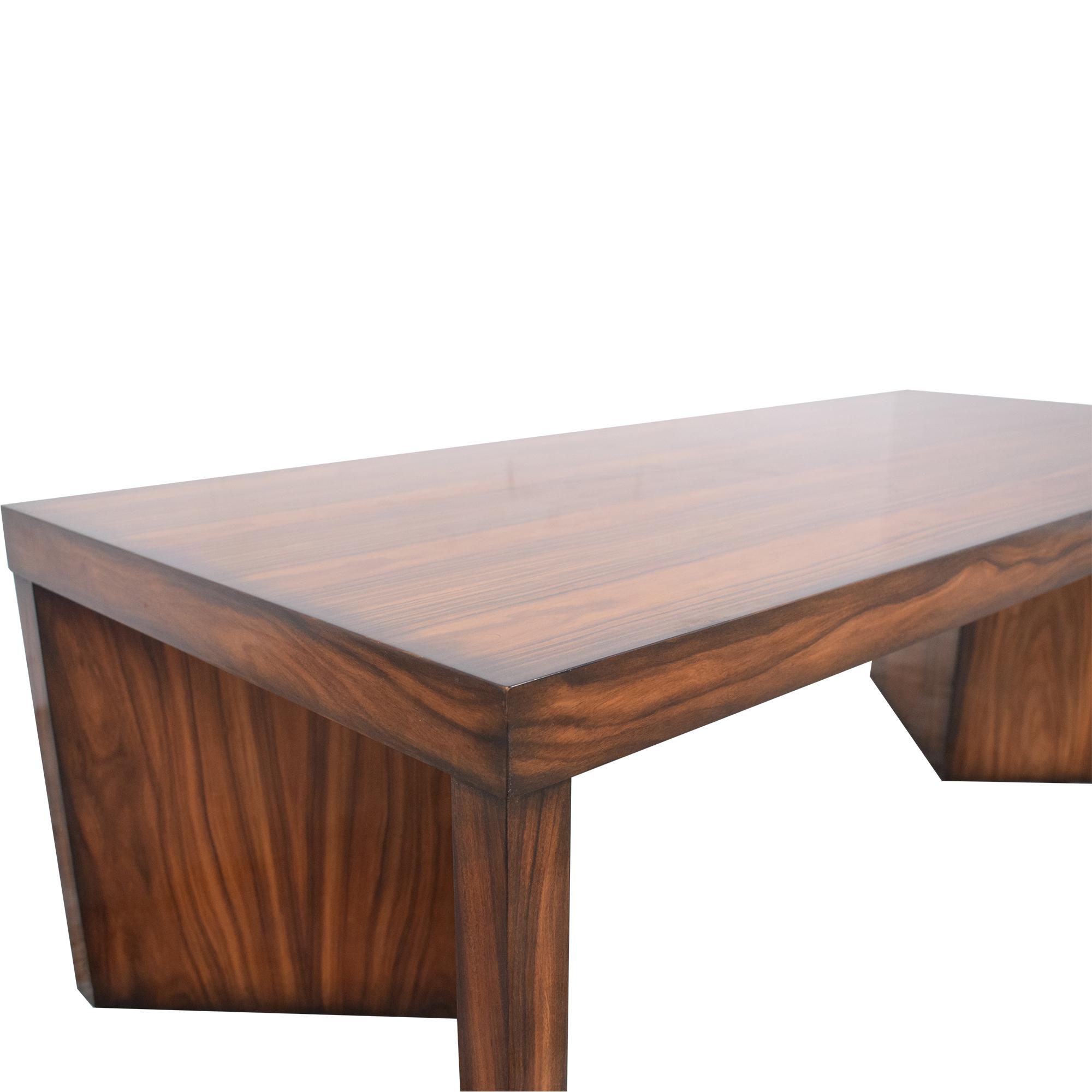 Kindel Kindel Rosewood Coffee Table brown