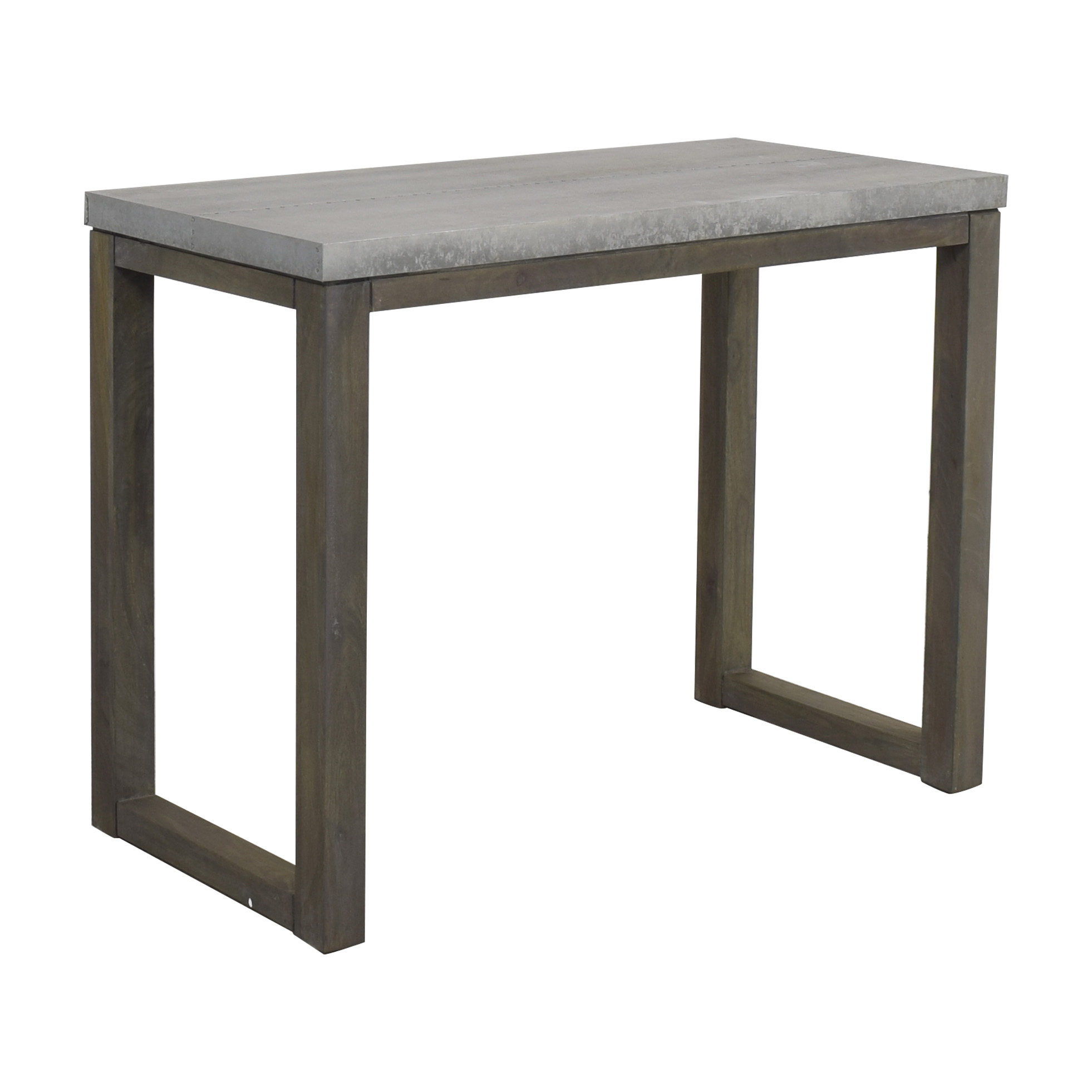CB2 CB2 Stern Counter Table grey