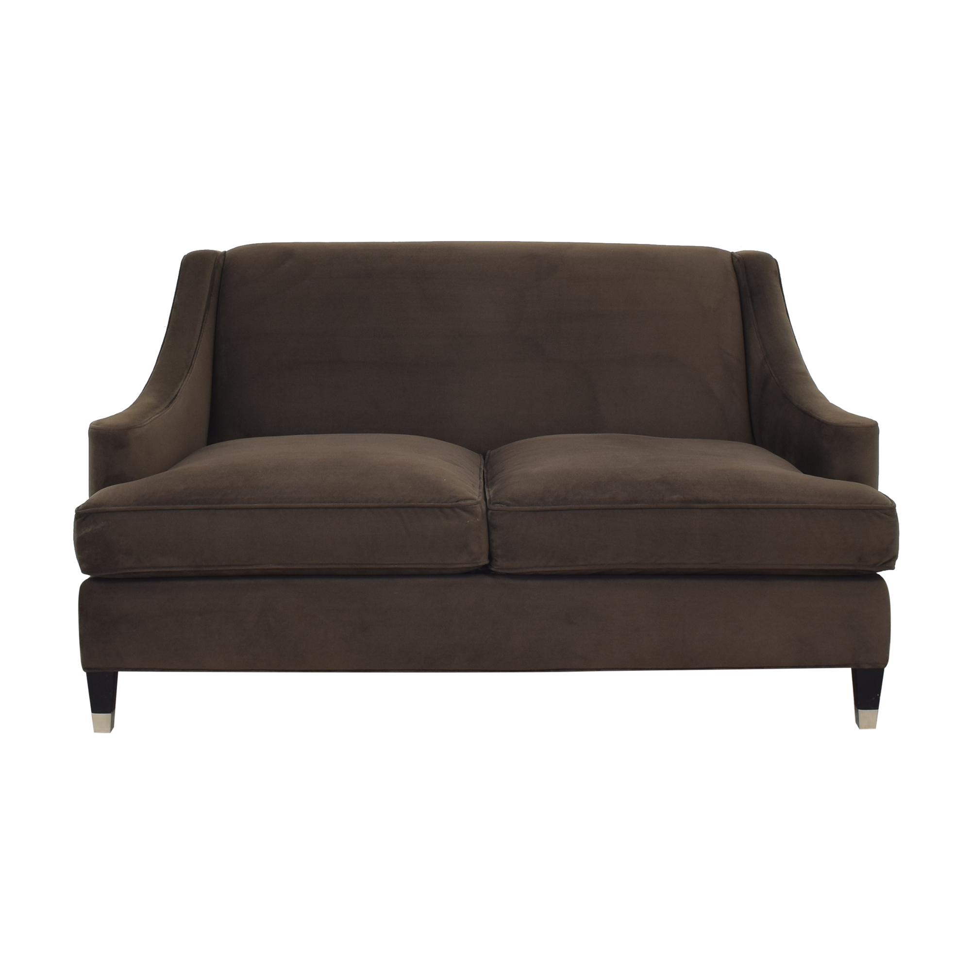 buy Room & Board Loring Walnut Loveseat Room & Board Loveseats