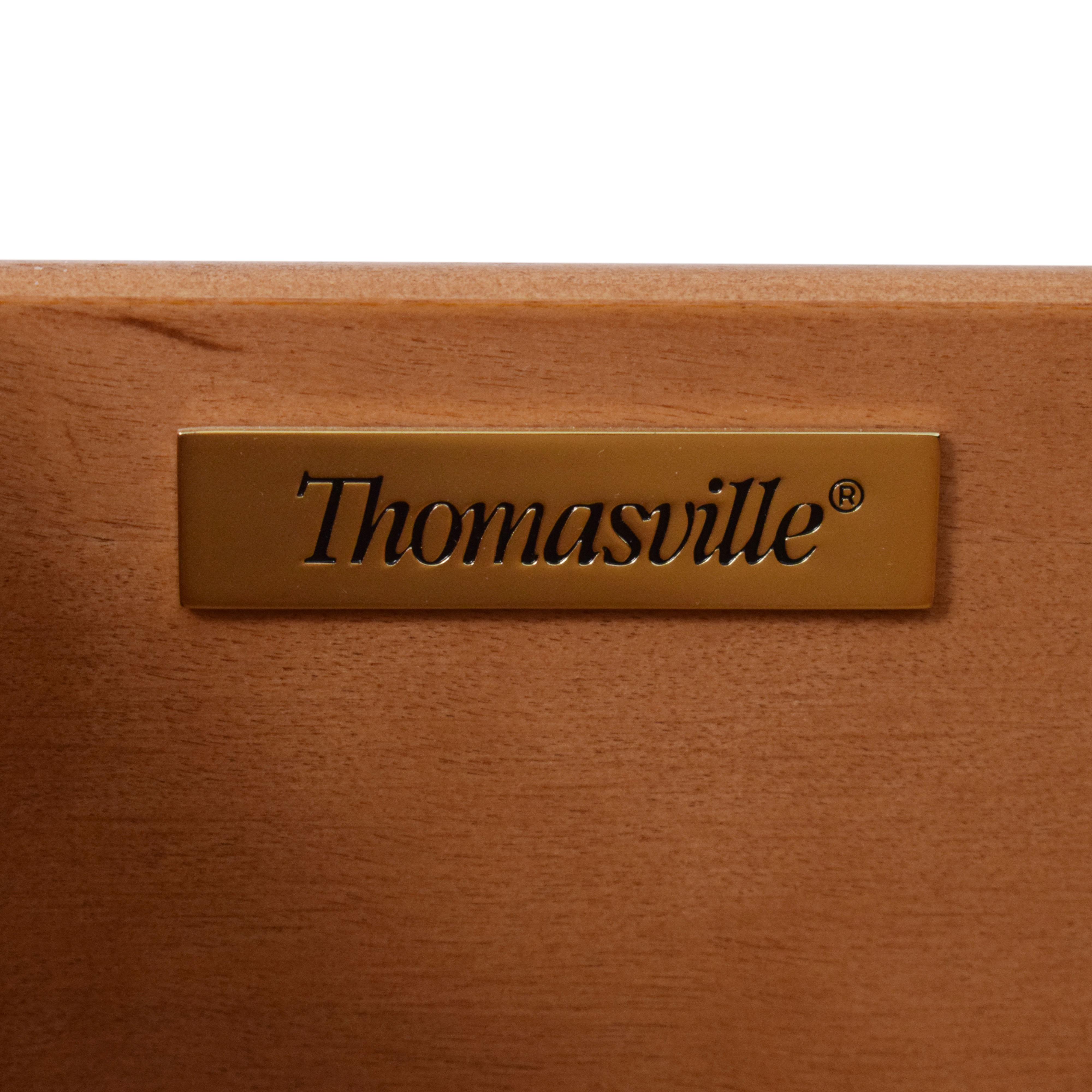 Thomasville Thomasville Nocturne Nine Drawer Dresser dimensions