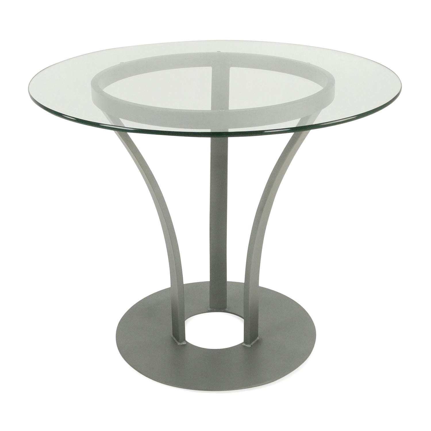 Urban Essentials Glass Dining Table discount