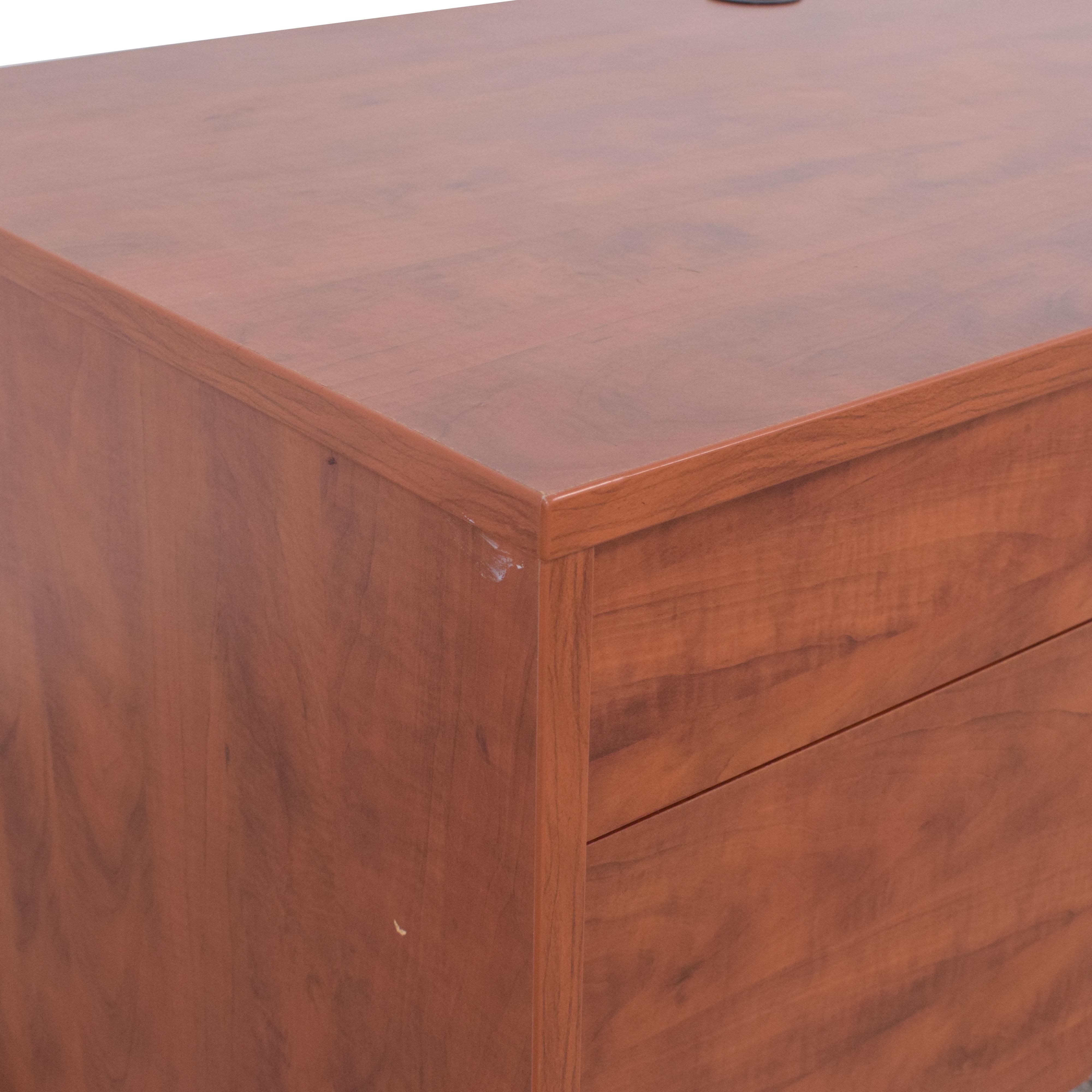 shop Glenwood Desk with Two Drawers Glenwood