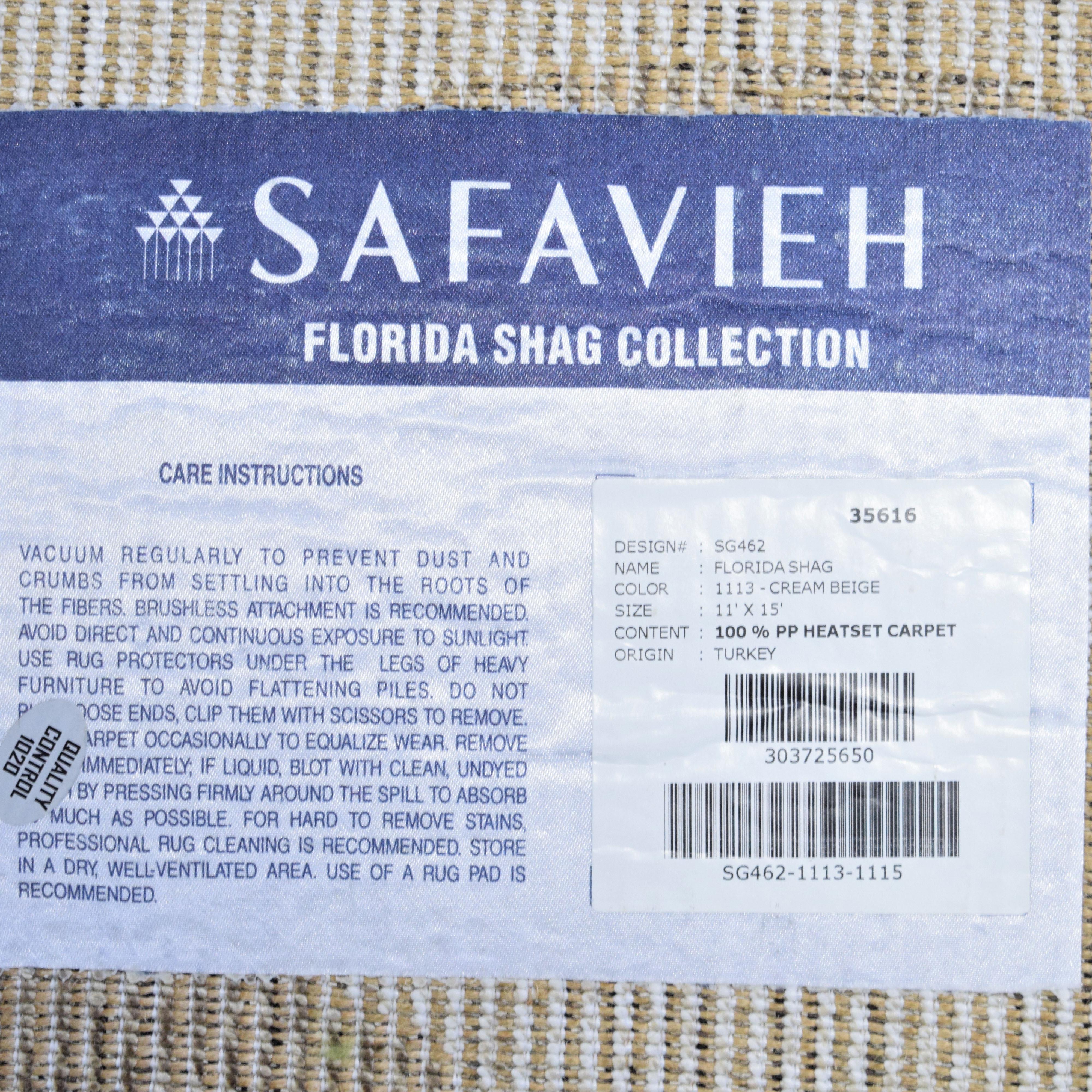 shop Safavieh Safavieh Florida Shag Shahin Scroll Rug online