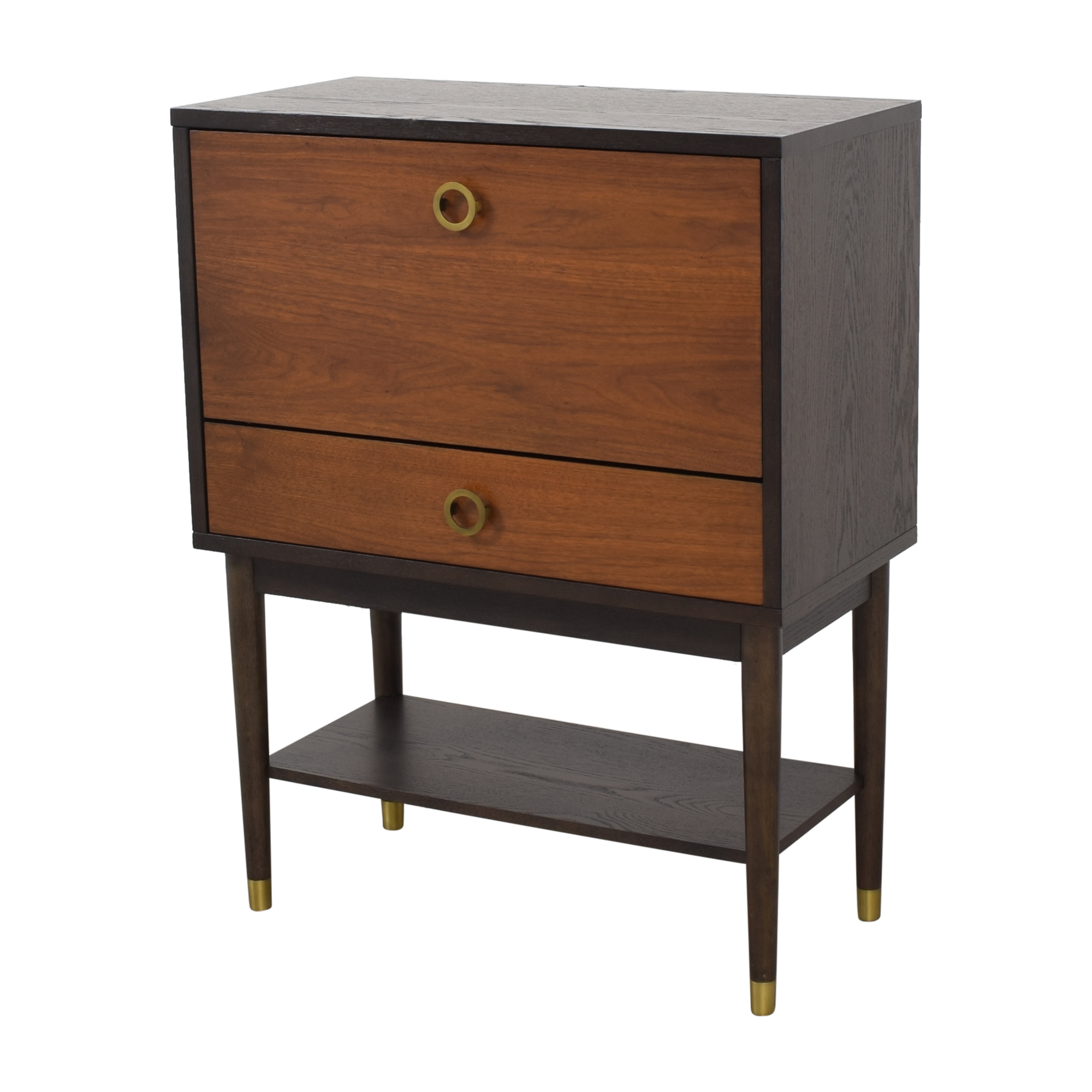 West Elm Dobson Flip Down Bar Cabinet sale