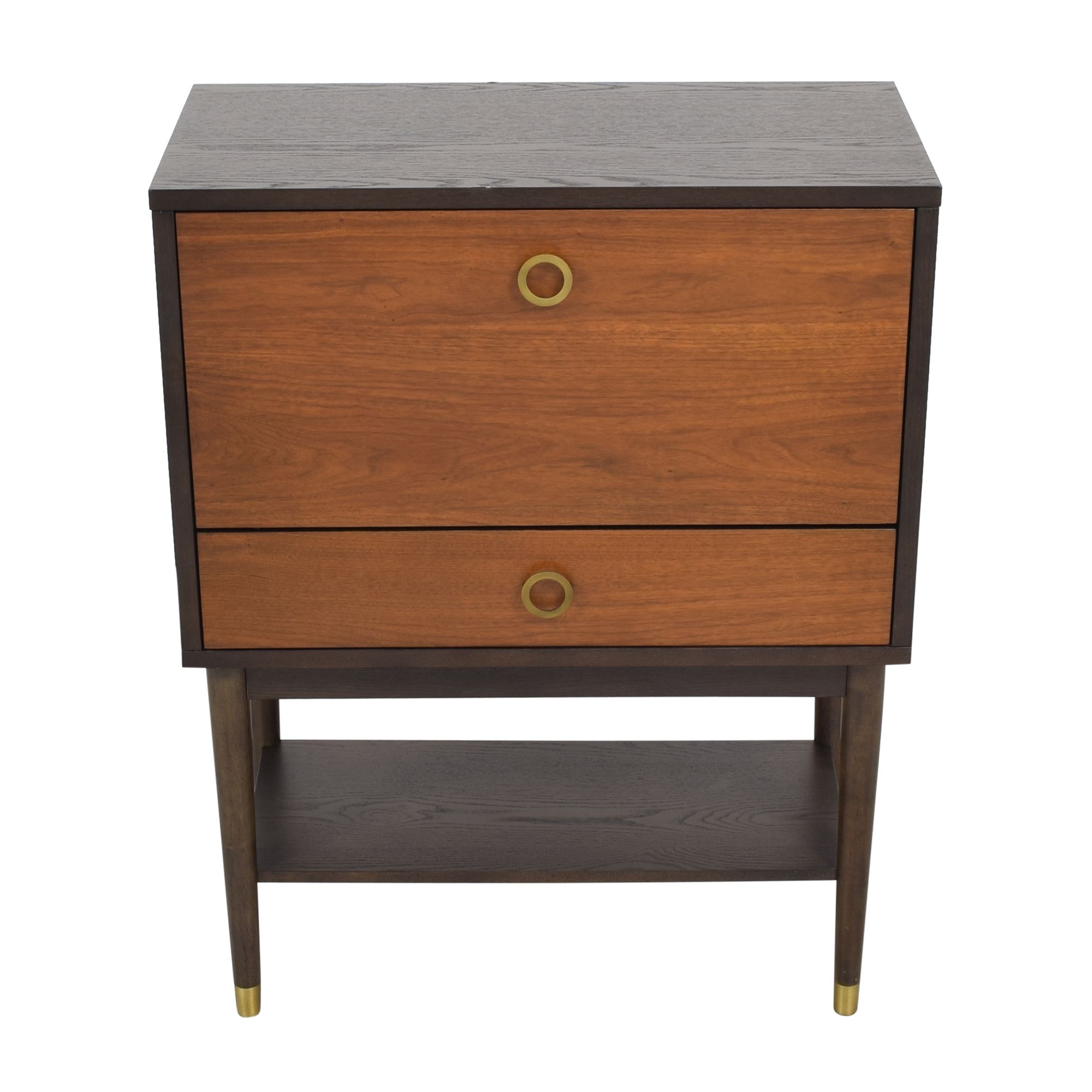 West Elm Dobson Flip Down Bar Cabinet / Storage