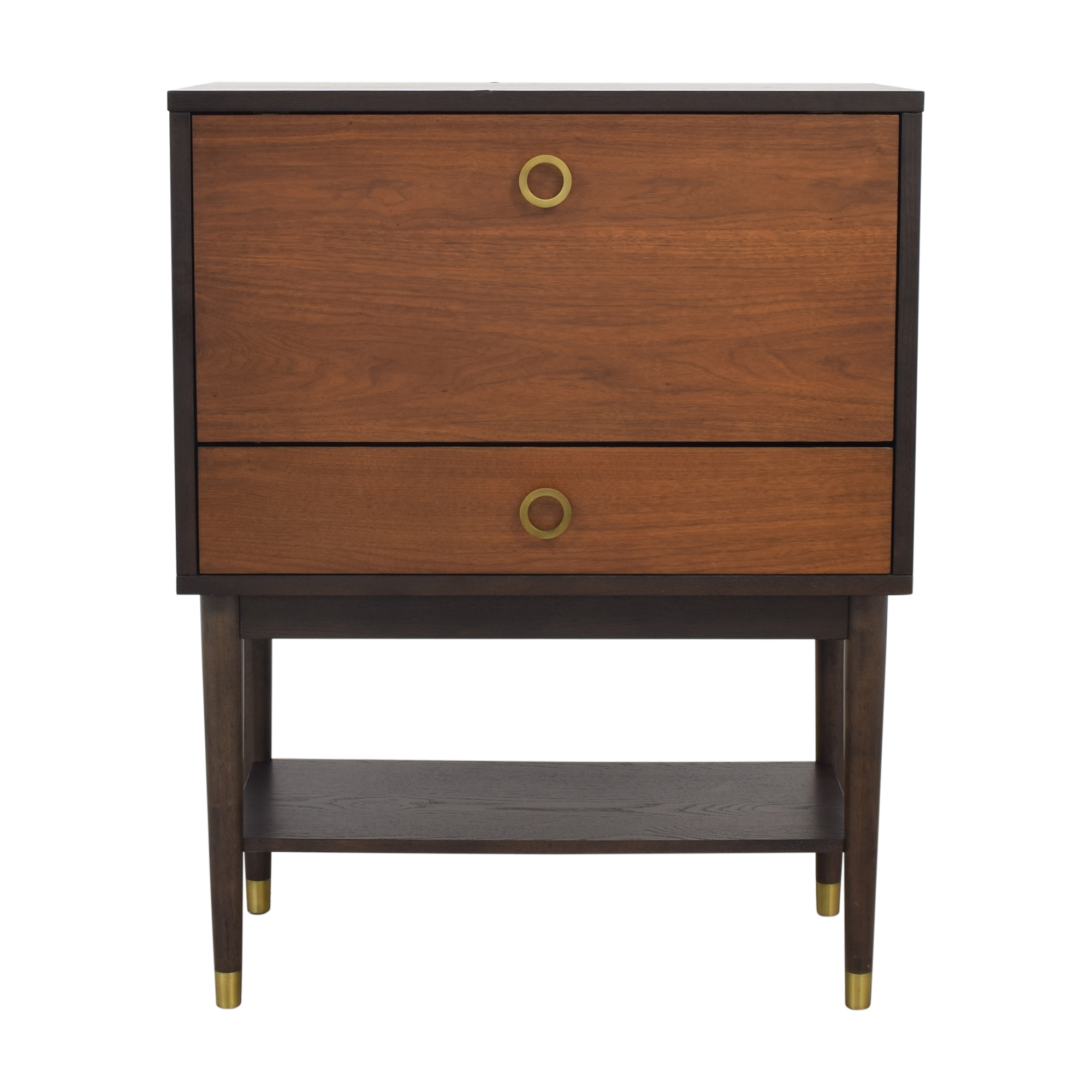 West Elm West Elm Dobson Flip Down Bar Cabinet on sale