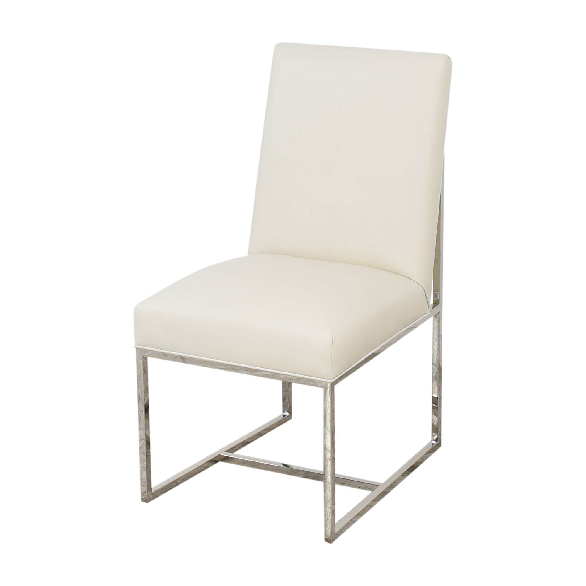 Restoration Hardware Grant Leather Side Chairs / Chairs