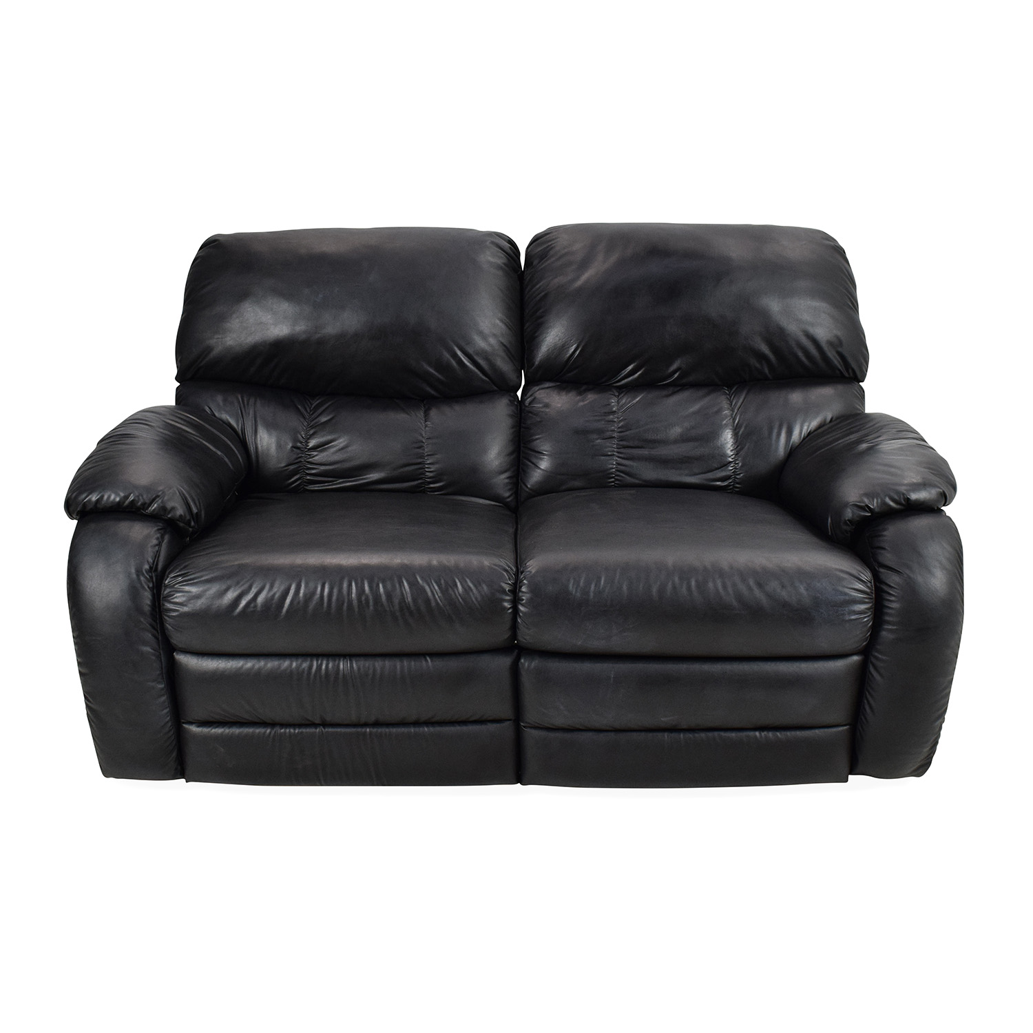 Used Reclining Sofa Used Black Leather Reclining Sofa Kendrys Furniture Used Leather