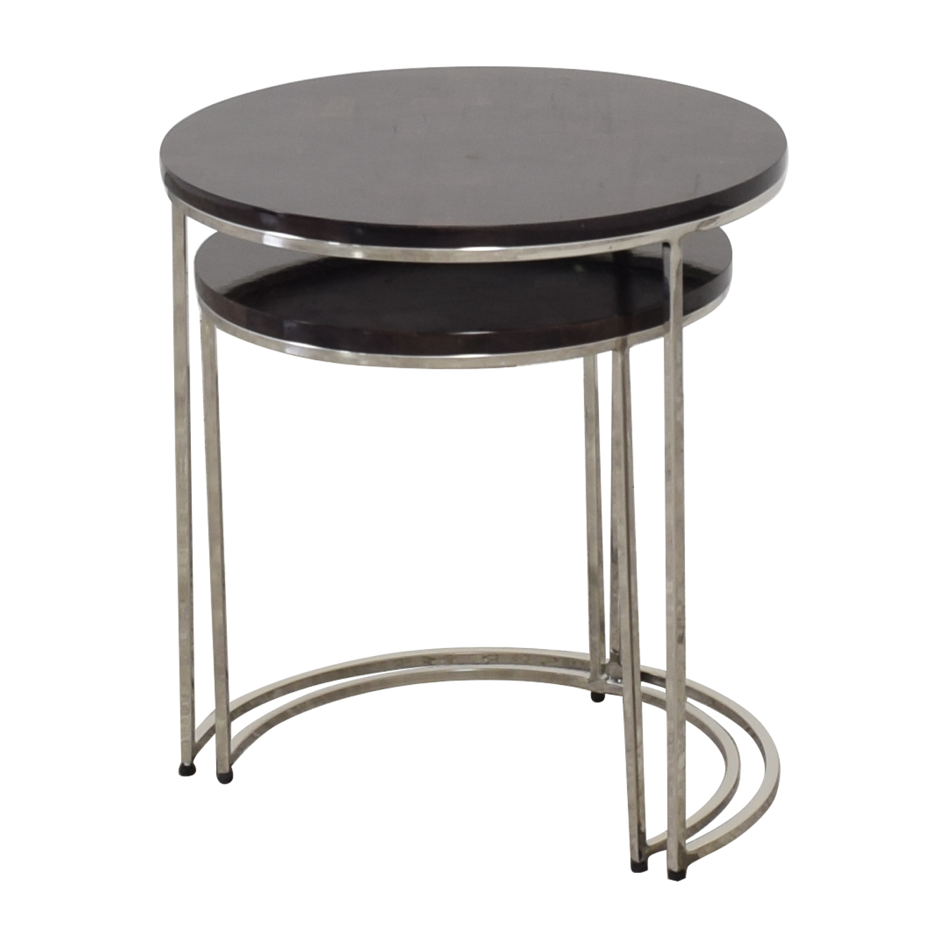 Williams Sonoma Williams Sonoma Antigua Pen Shell Nesting Tables nyc