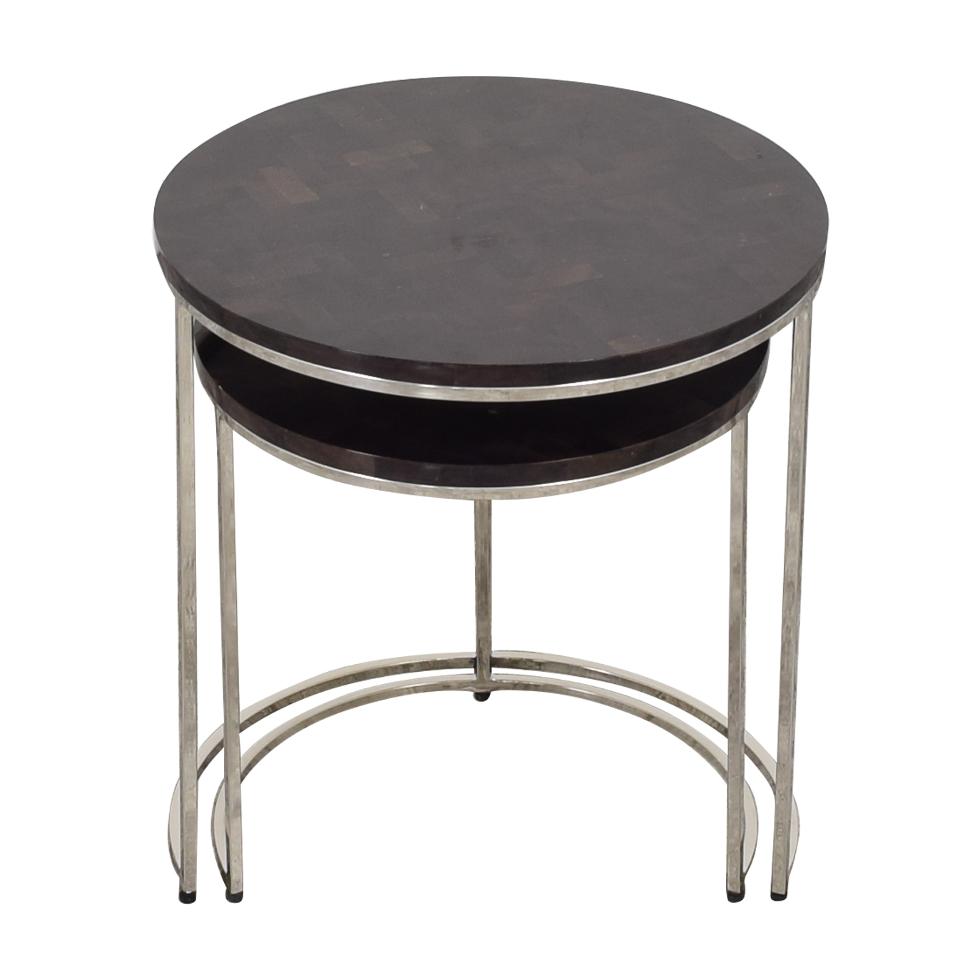 shop Williams Sonoma Antigua Pen Shell Nesting Tables Williams Sonoma Tables