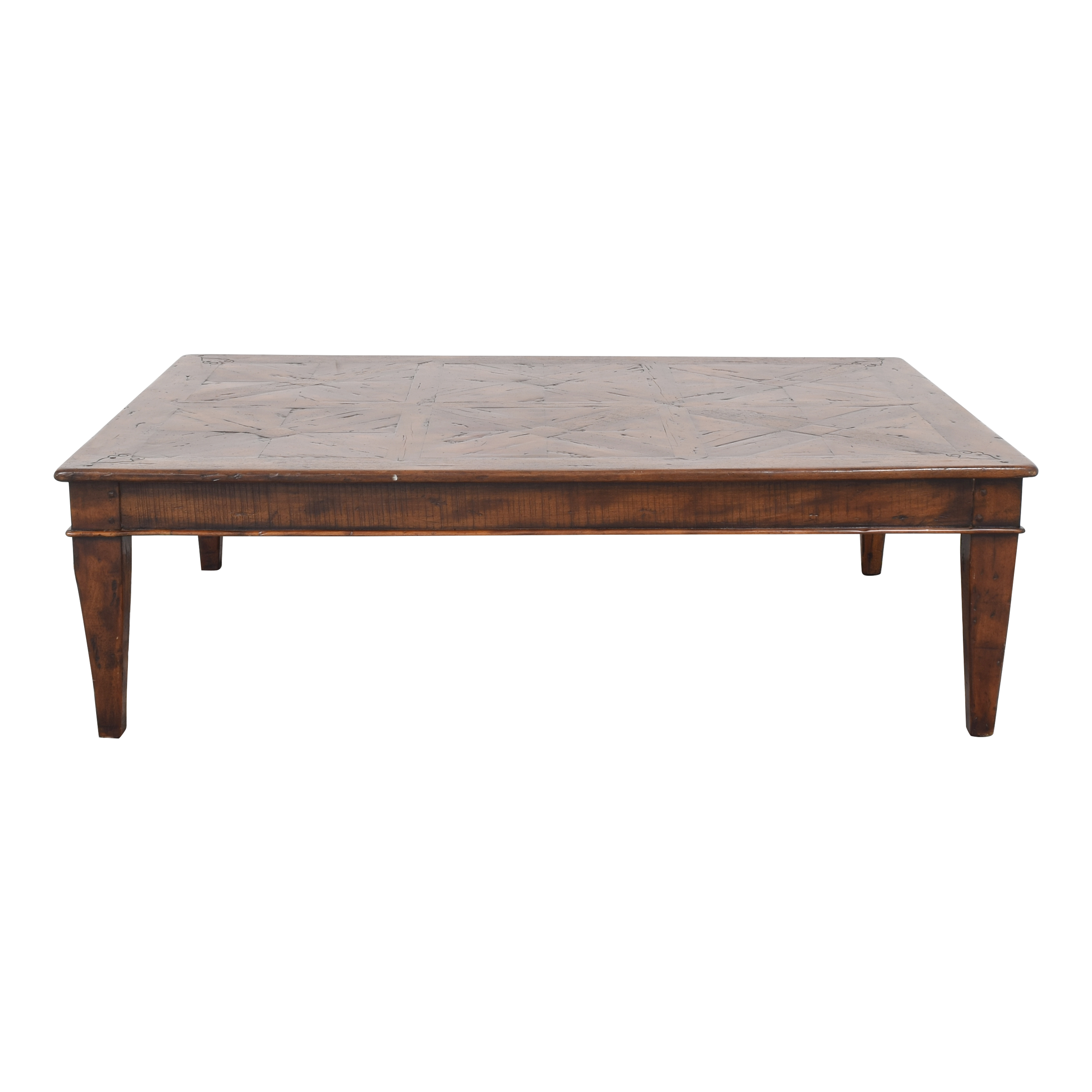 Theodore Alexander Theodore Alexander Castle Bromwich Mahogany Wide Coffee Table Tables