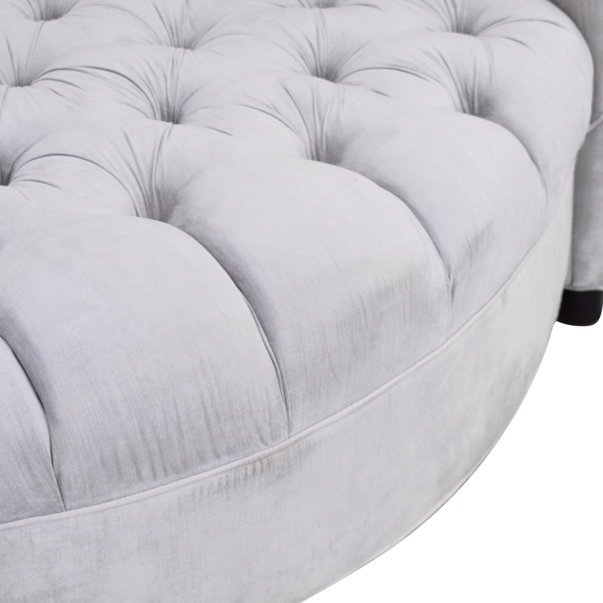 Horchow Horchow Haute House Harlow Silver Cuddle Chair used
