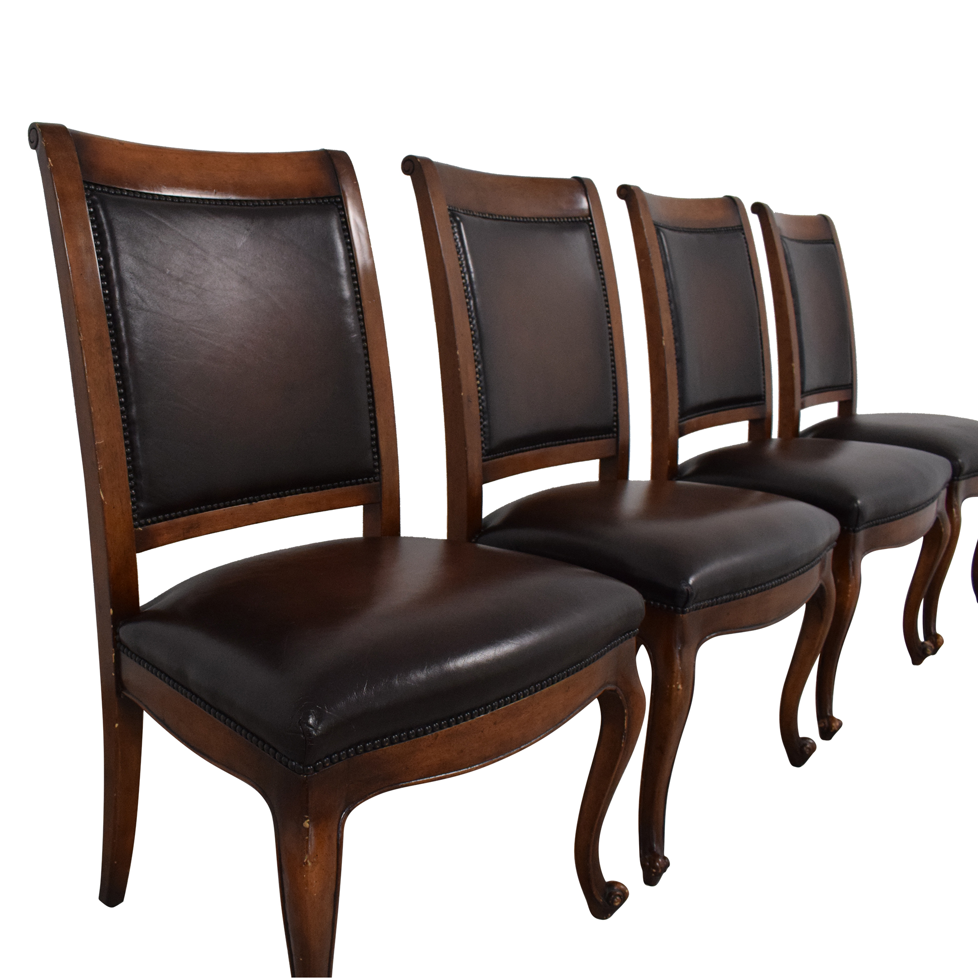 Theodore Alexander Theodore Alexander Dining Chairs used