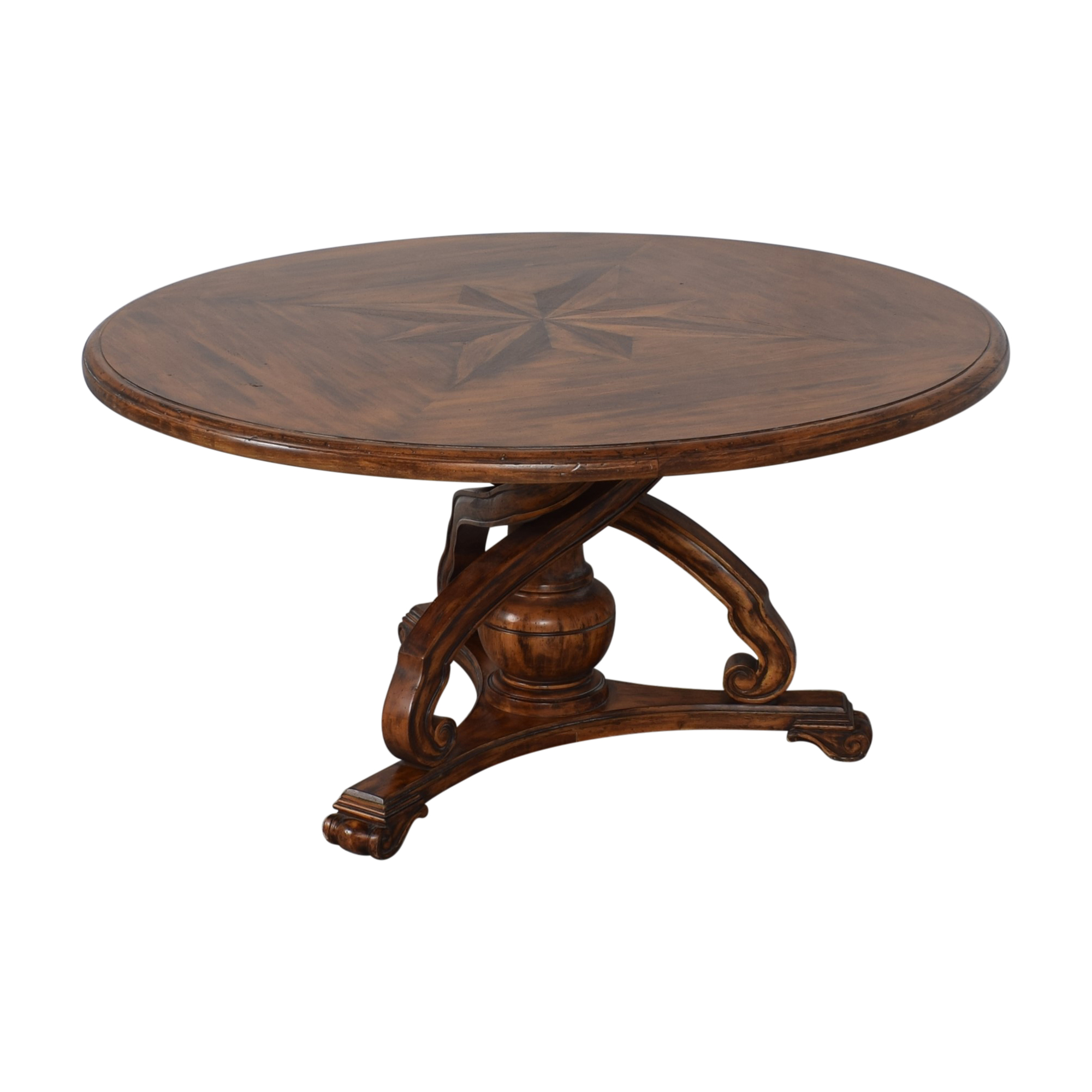 buy Round Pedestal Dining Table  Dinner Tables